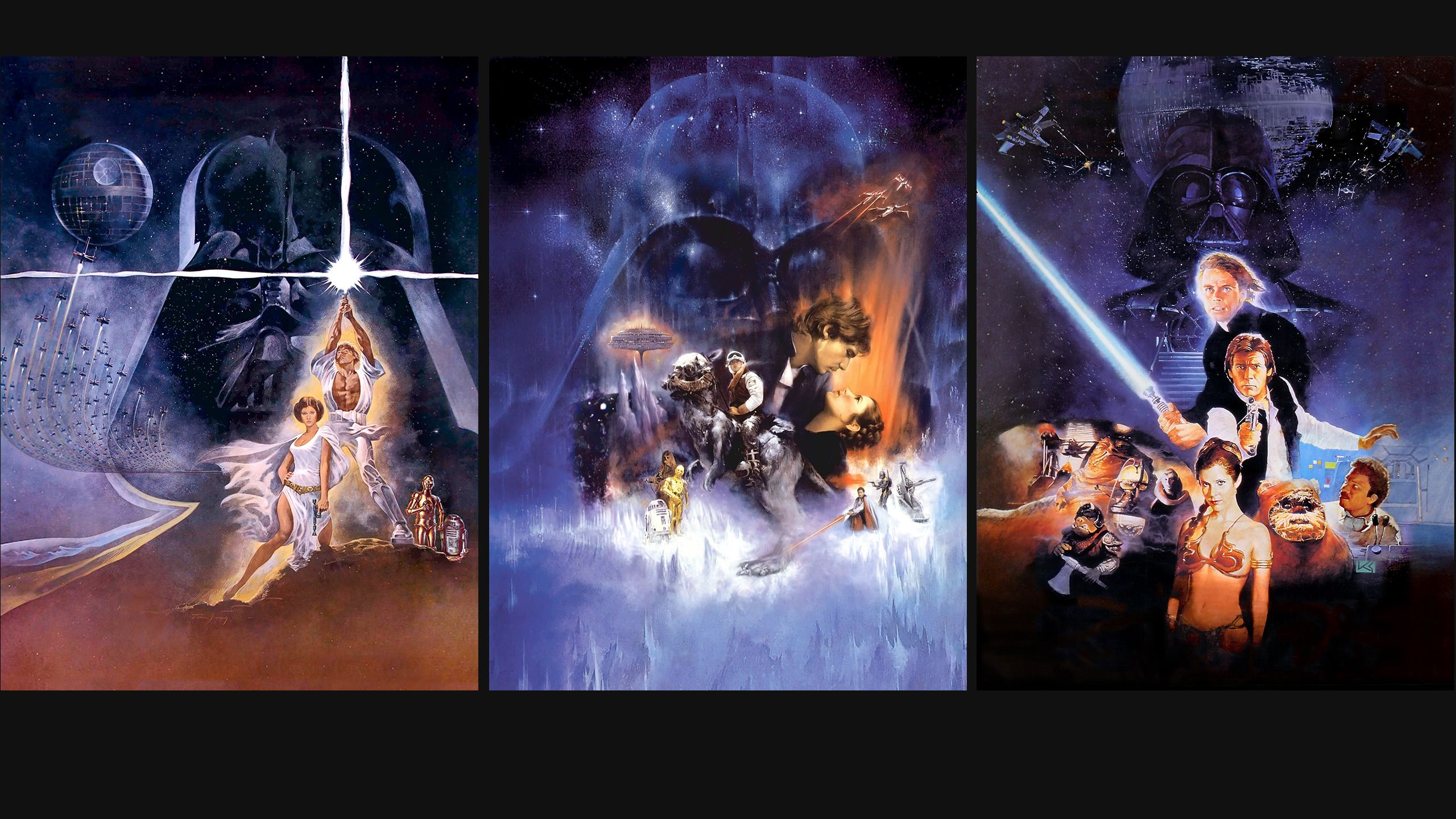 Star Wars Trilogy Wallpapers Wallpaper Cave