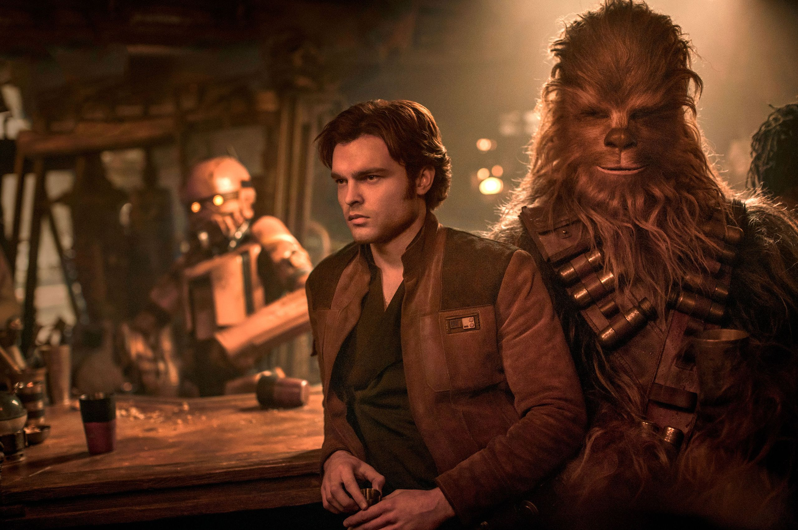 Han Solo And Chewbacca Wallpapers Wallpaper Cave