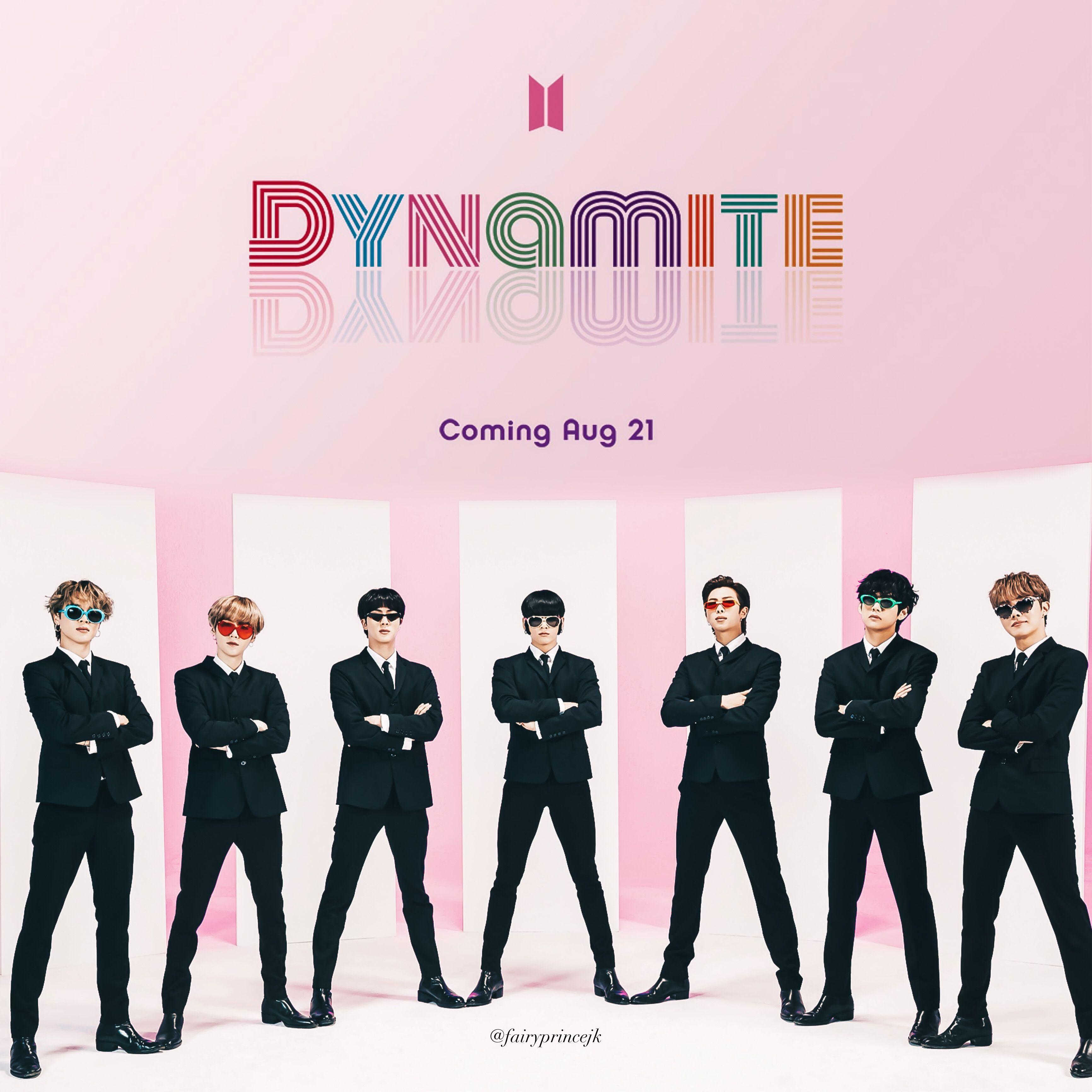 HD BTS Dynamite Wallpapers - Wallpaper Cave