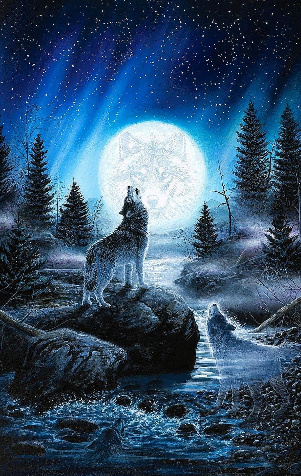 560+Moon Wolf Wallpapers   Wallpaper Cave