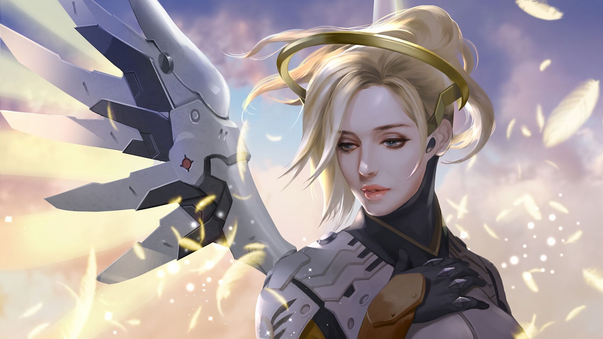 Mercy Overwatch Wallpapers Wallpaper Cave