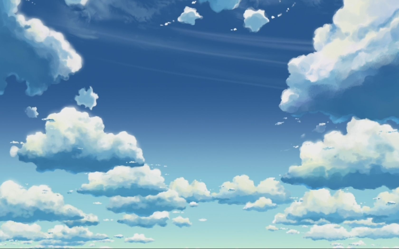 Anime Sky Full Hd Wallpapers Wallpaper Cave