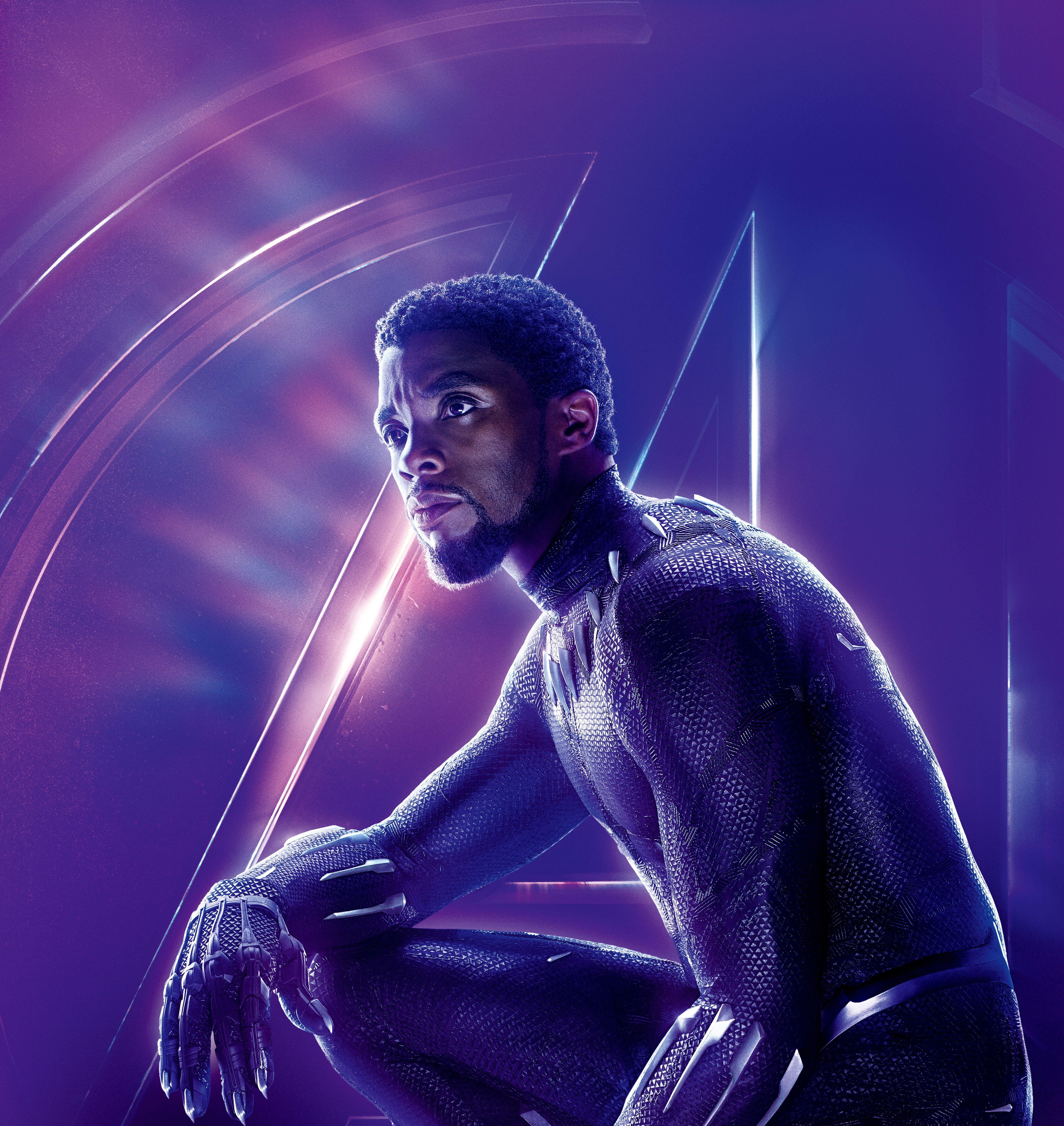 Chadwick Boseman Black Panther Phone Wallpapers Wallpaper Cave