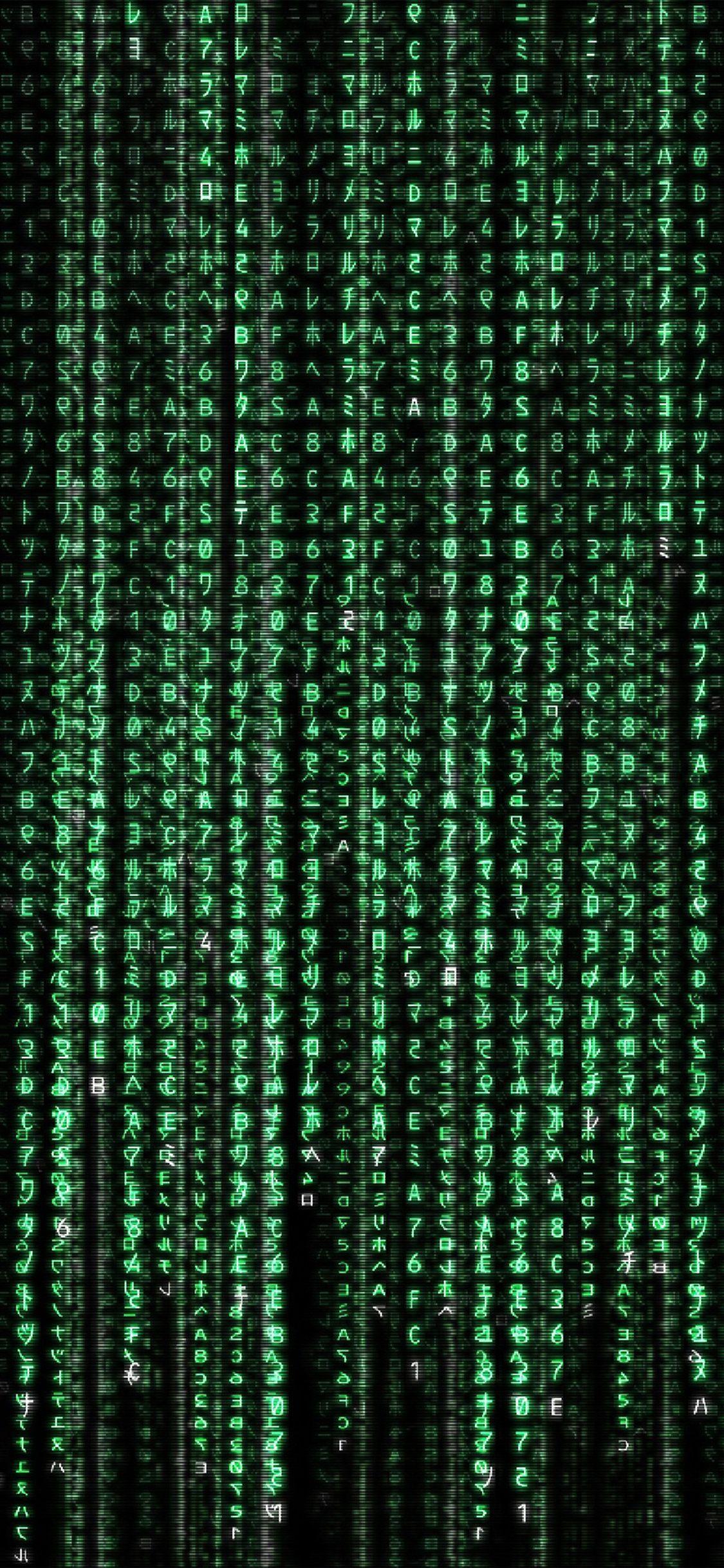 Matrix Iphone Wallpapers Wallpaper Cave