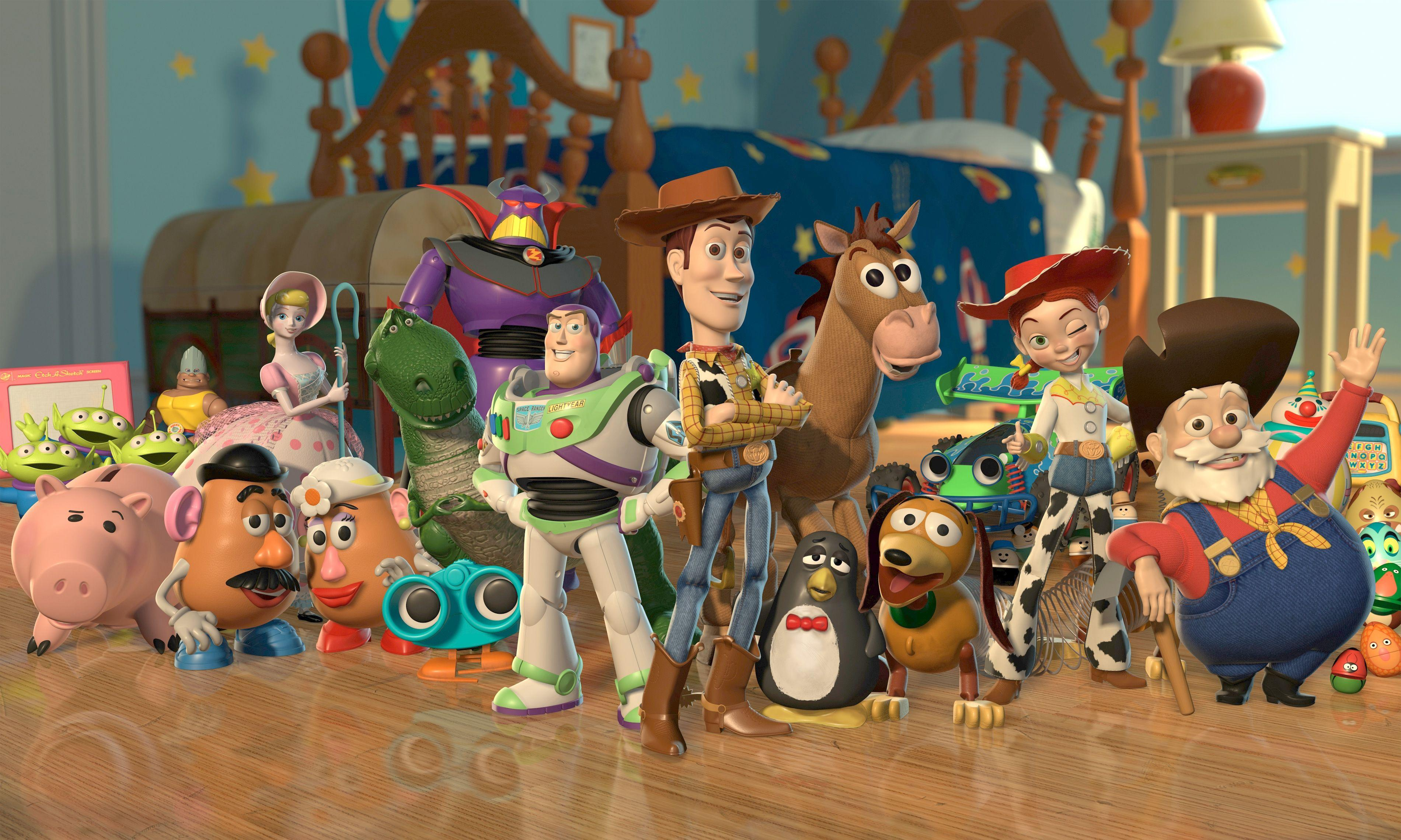 Toy Story 4K Wallpapers