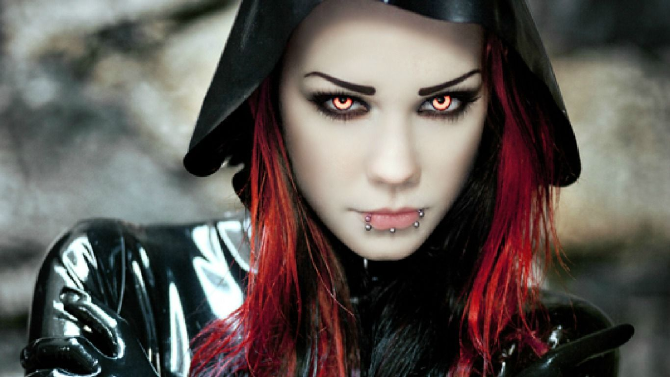 Cute Goth Girl Wallpapers - Wallpaper Cave