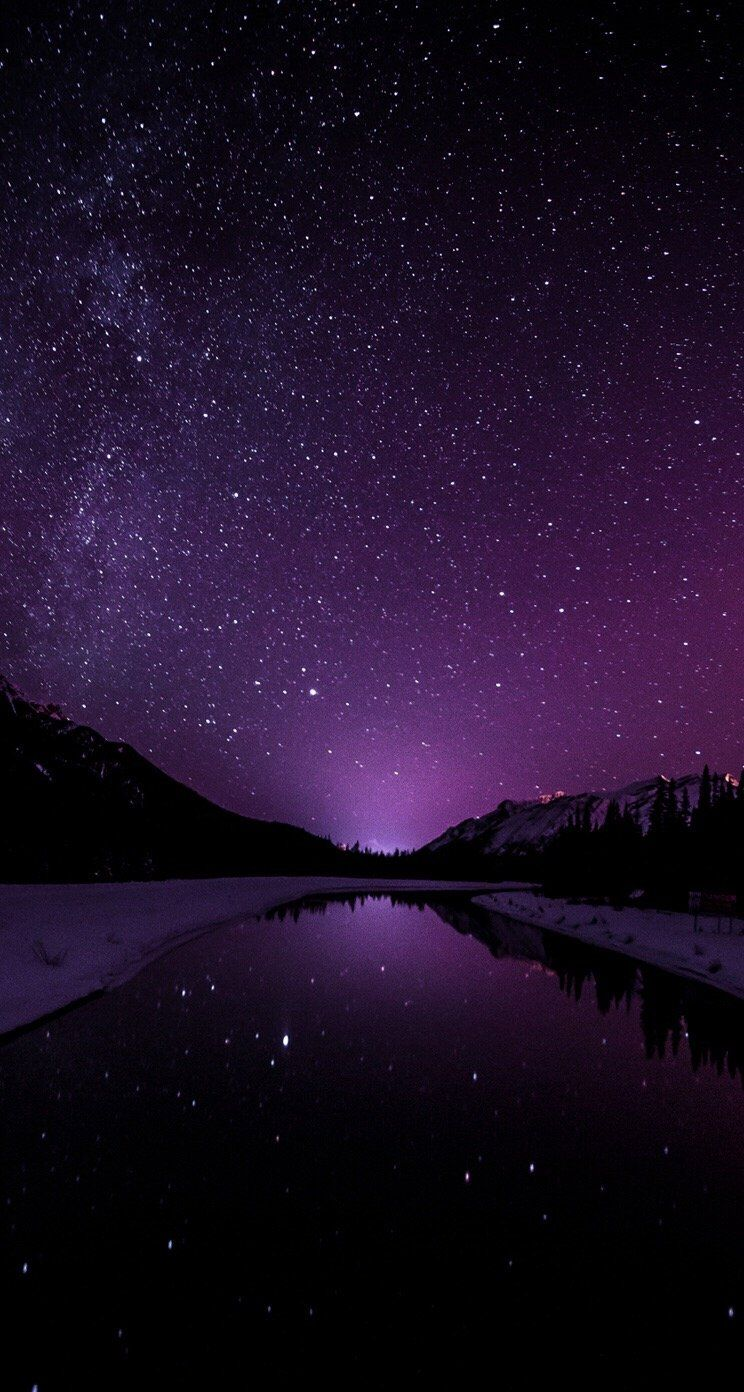Galaxy Purple Wallpapers Wallpaper Cave