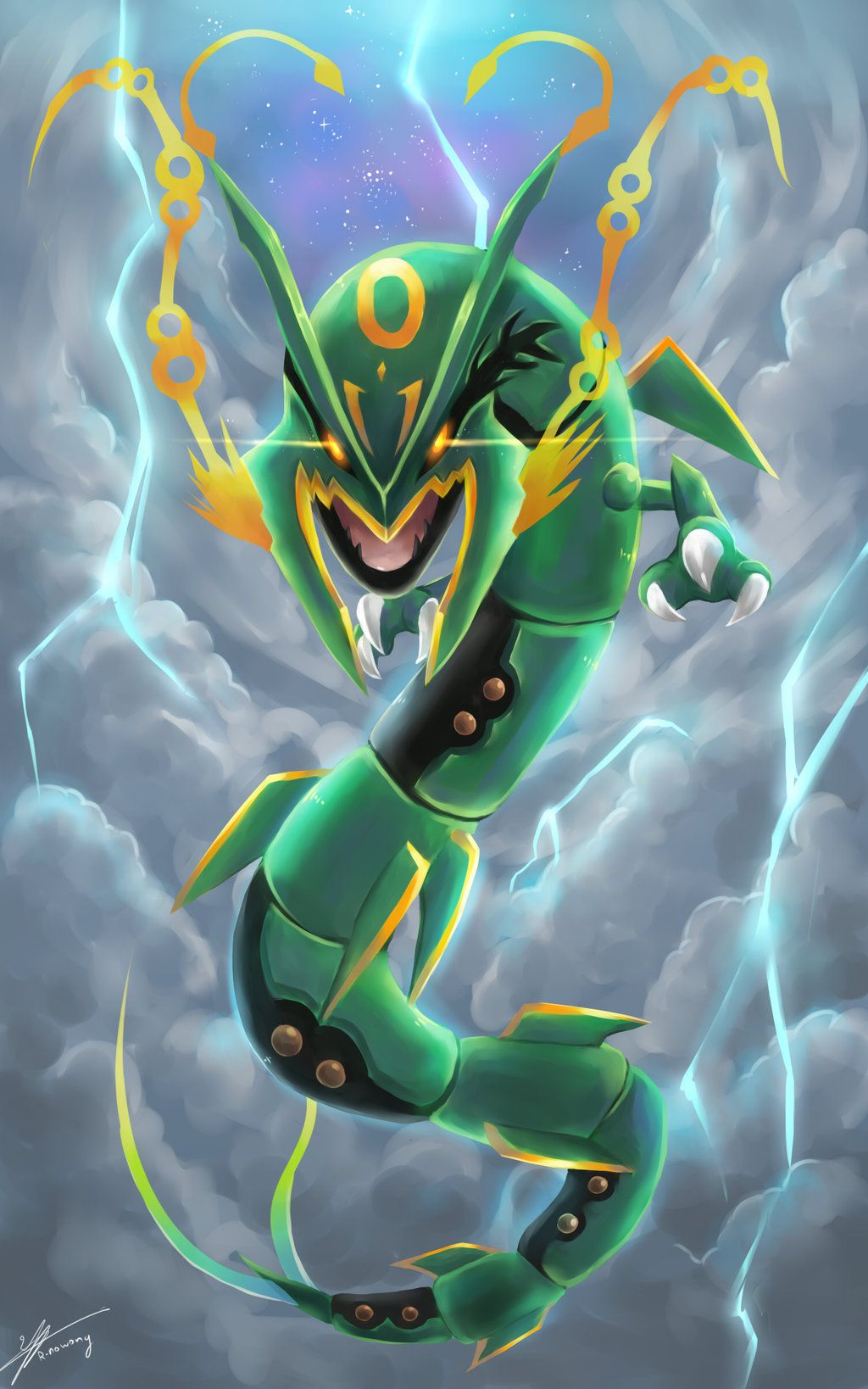 Rayquaza Iphone Wallpapers Wallpaper Cave