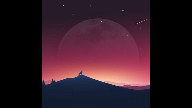 Wolf Minimalist Wallpapers - Wallpaper Cave