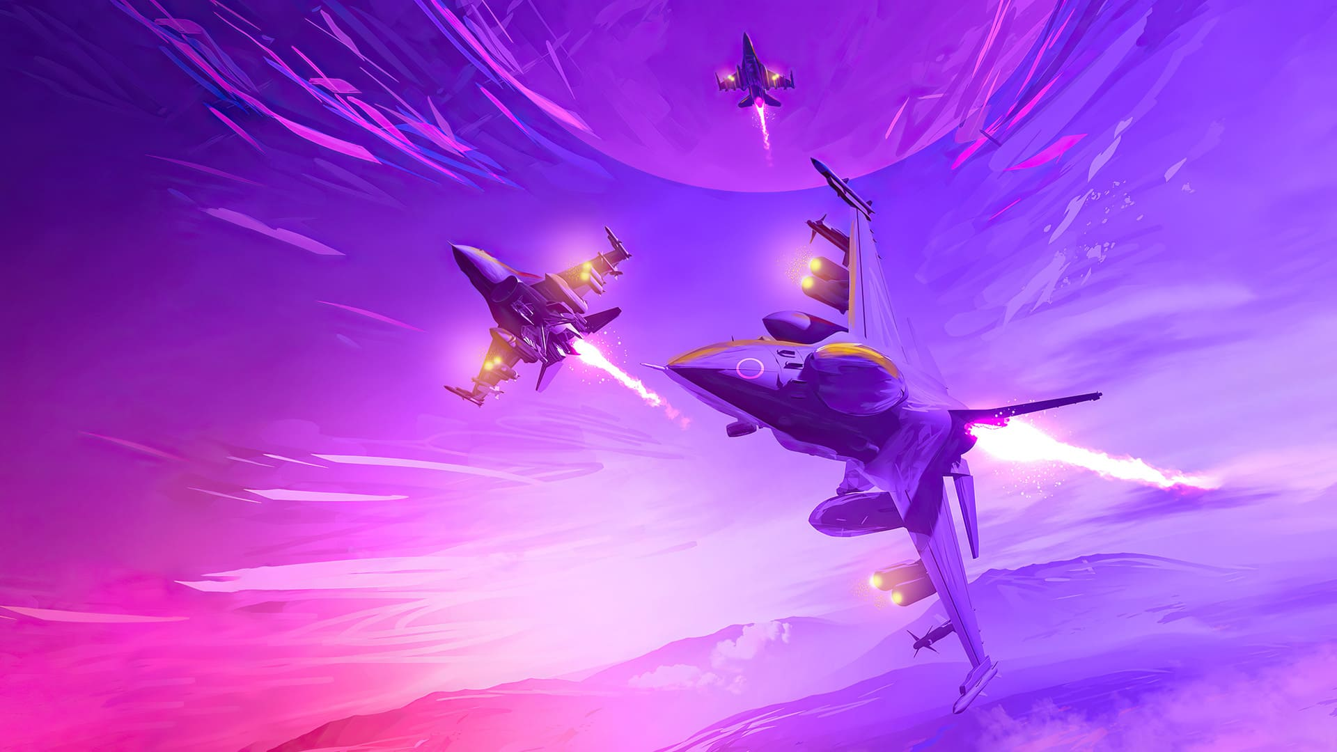 Purple Aesthetic Computer Wallpapers - Wallpaper Cave