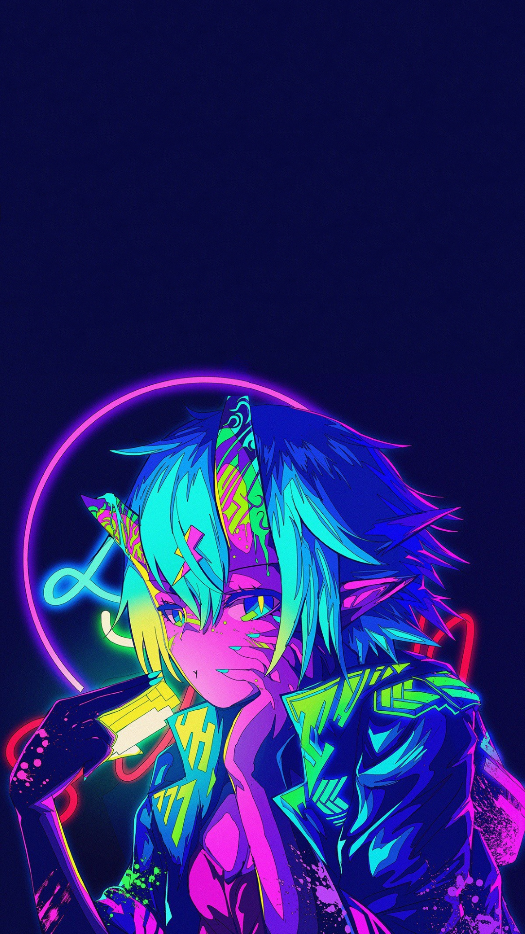 Neon Anime HD Wallpapers - Wallpaper Cave