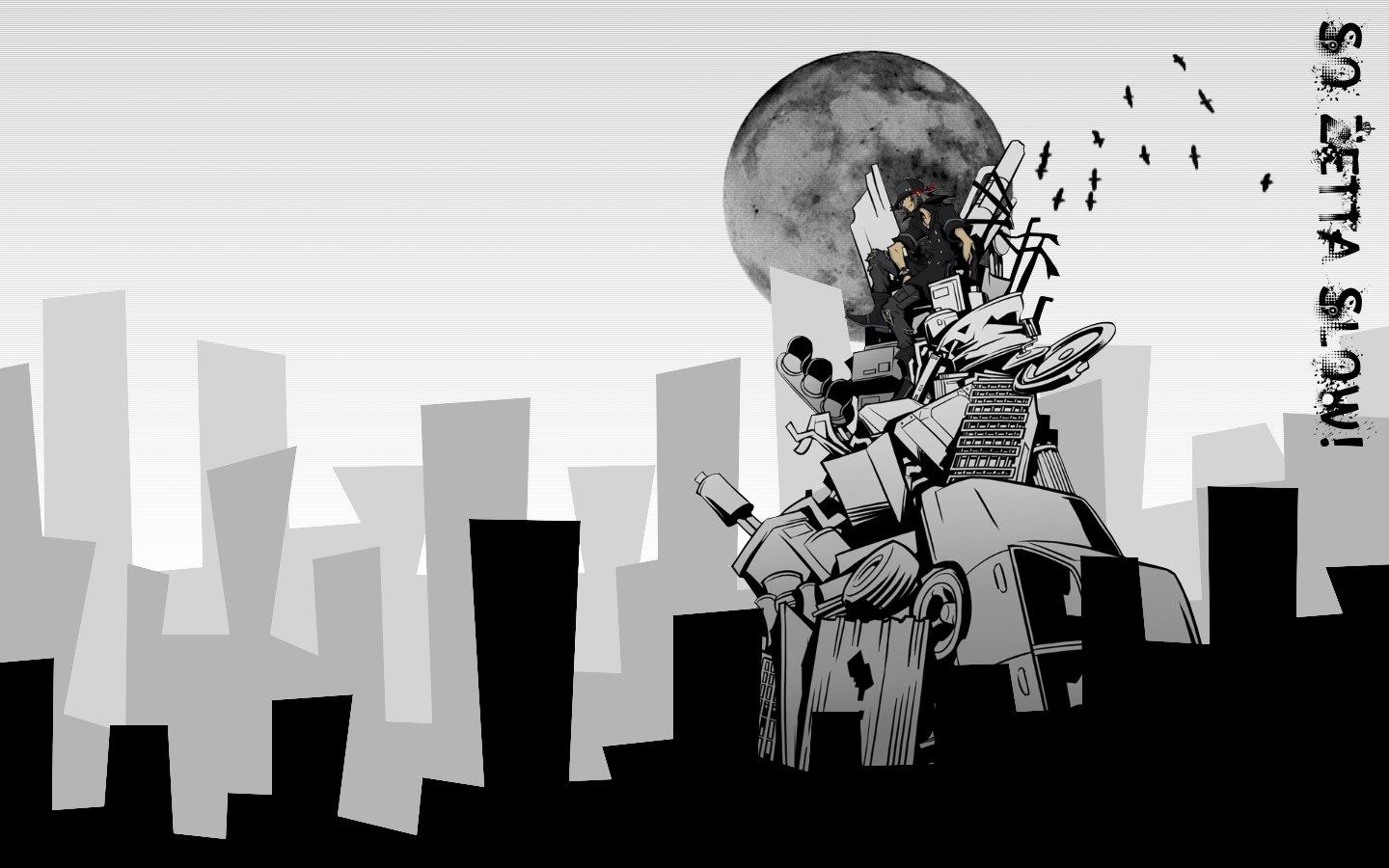 Aesthetic Anime Wallpapers Black And White Anime Wallpaper Hd
