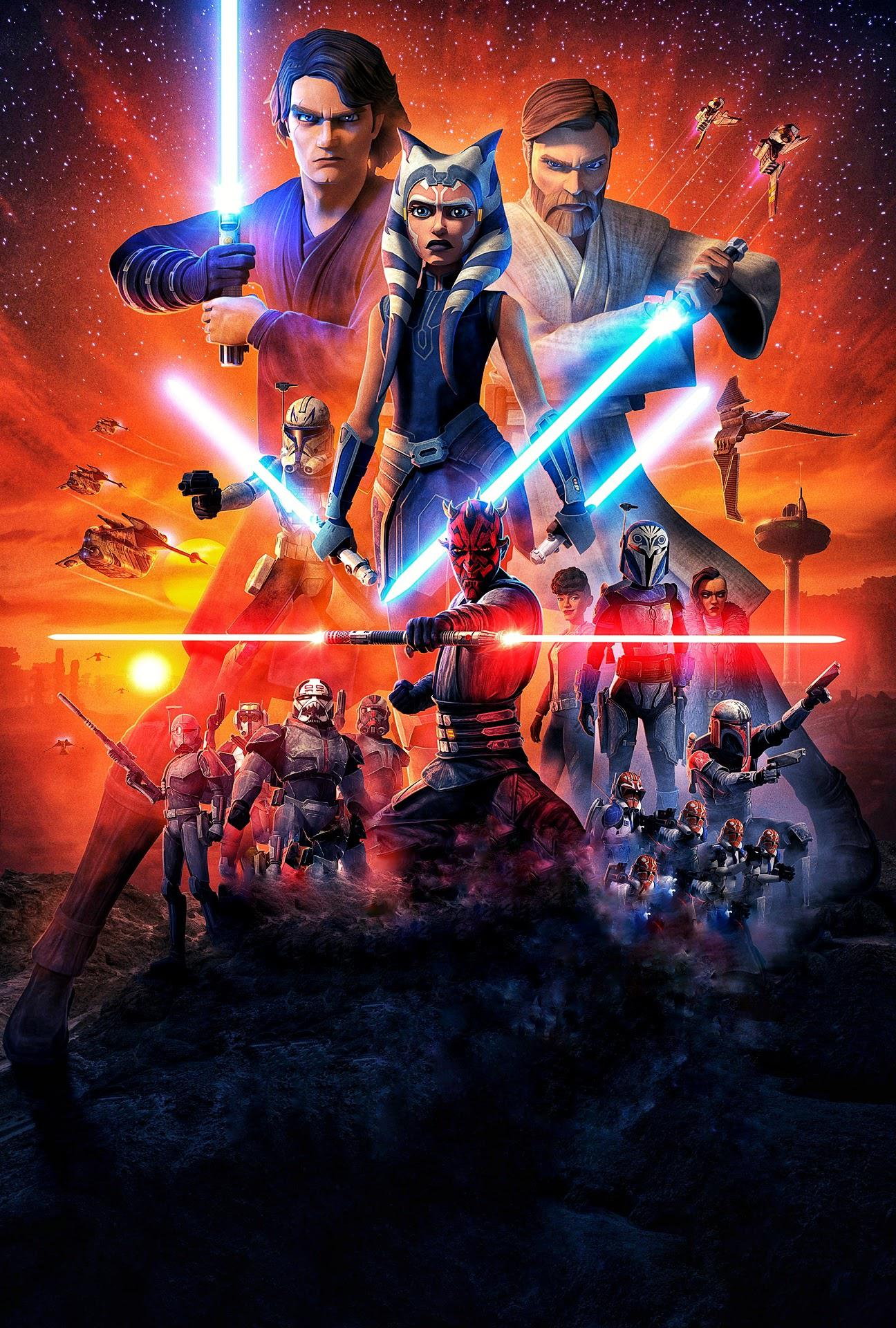 Star Wars The Clone Wars Season 7 Wallpapers Wallpaper Cave