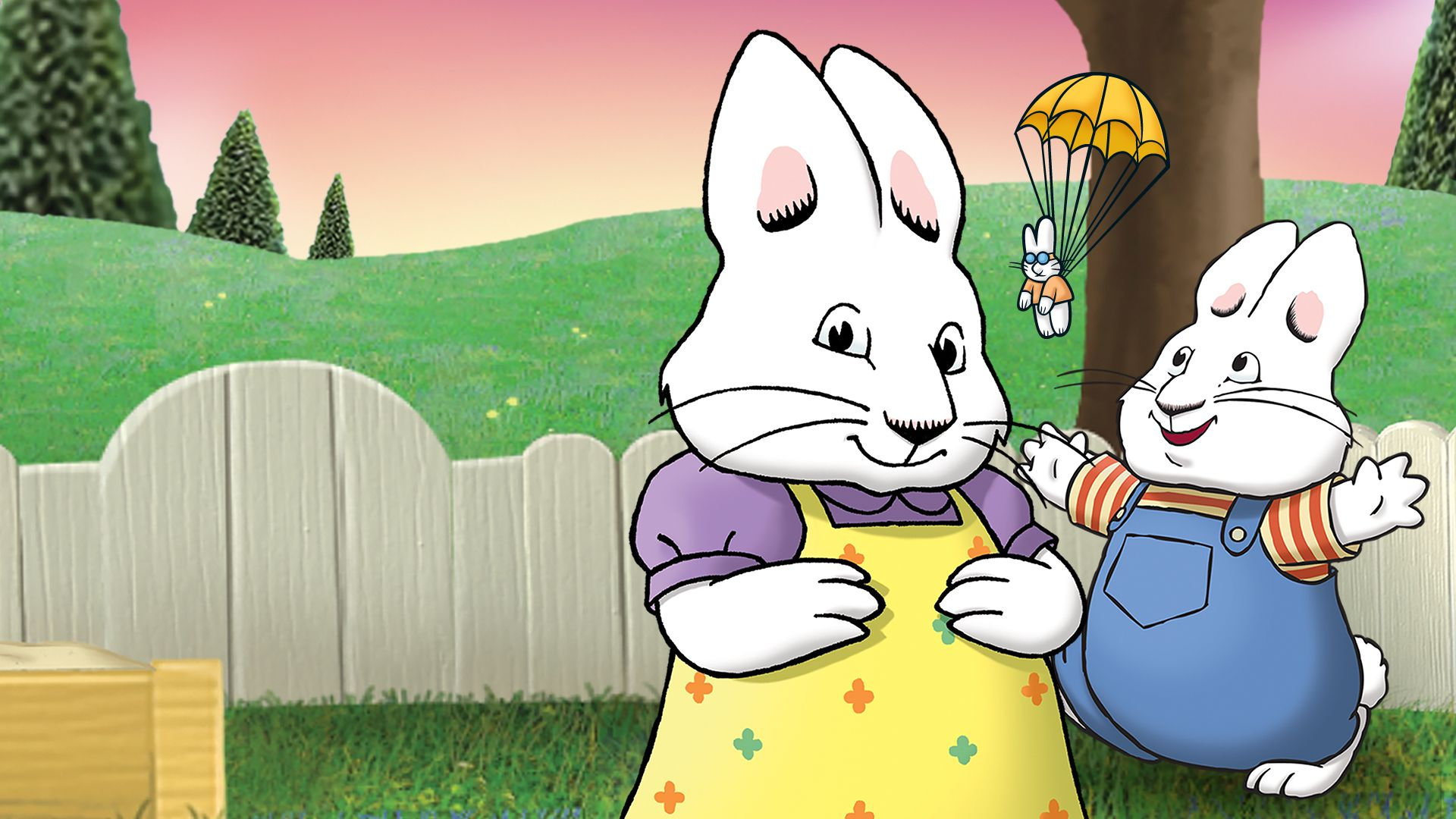 Max & Ruby Zoom Background 5