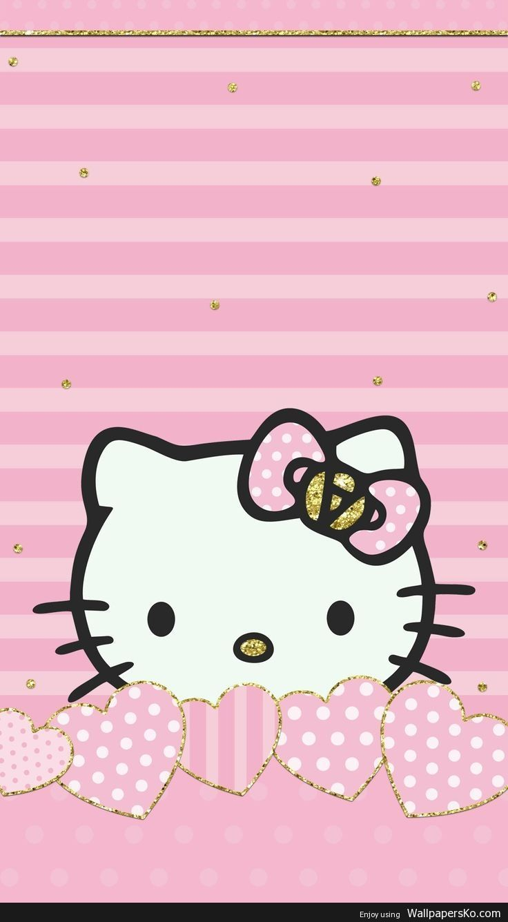 Pink Hello Kitty Hd Android Wallpapers Wallpaper Cave