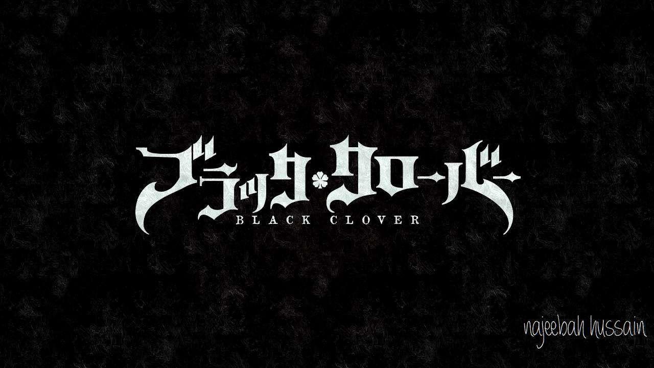 Black Clover Logo Wallpapers - Wallpaper Cave