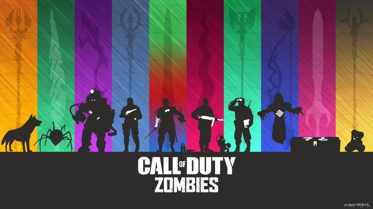 Call Of Duty Zombies Perks Wallpapers Wallpaper Cave