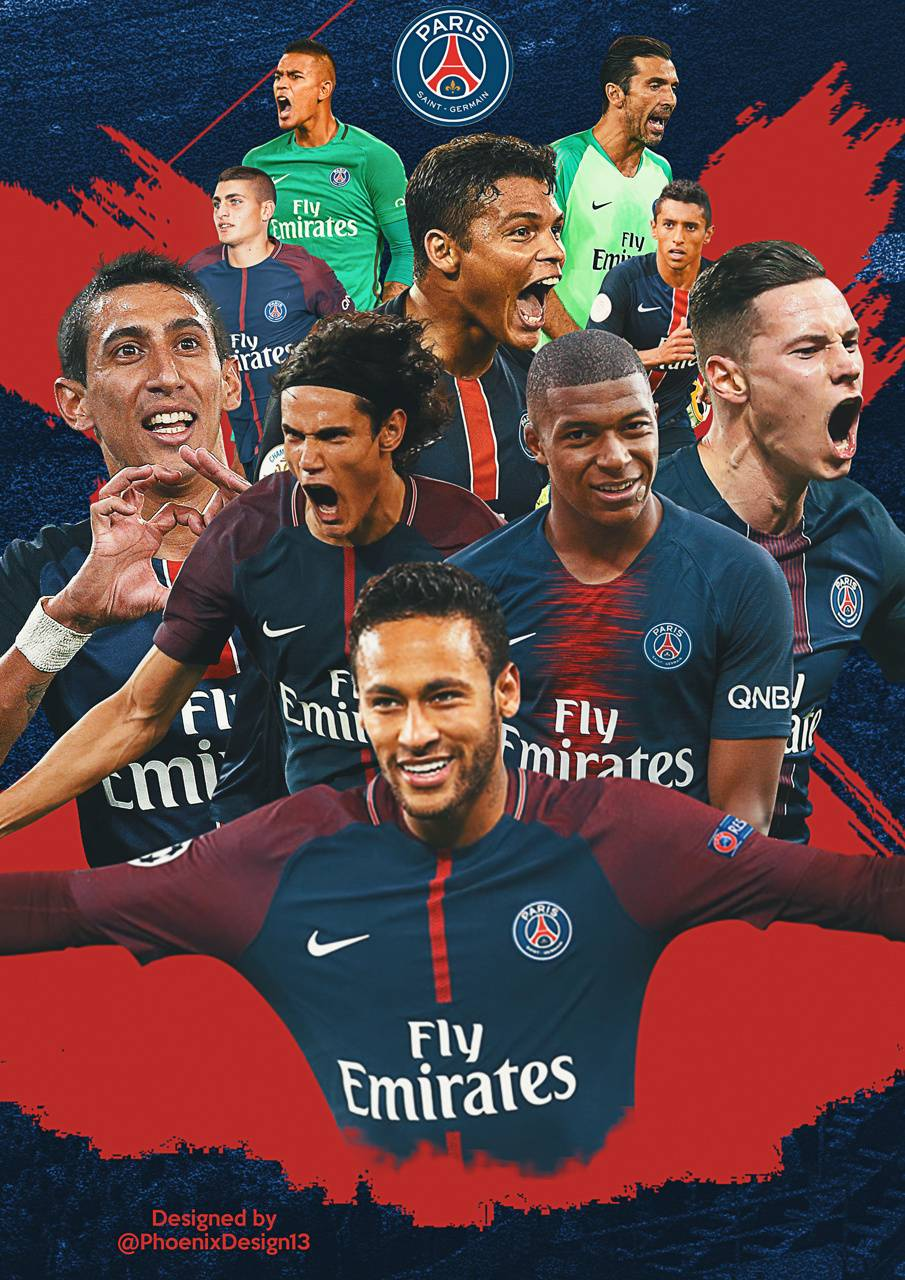 PSG Team Wallpapers Wallpaper Cave
