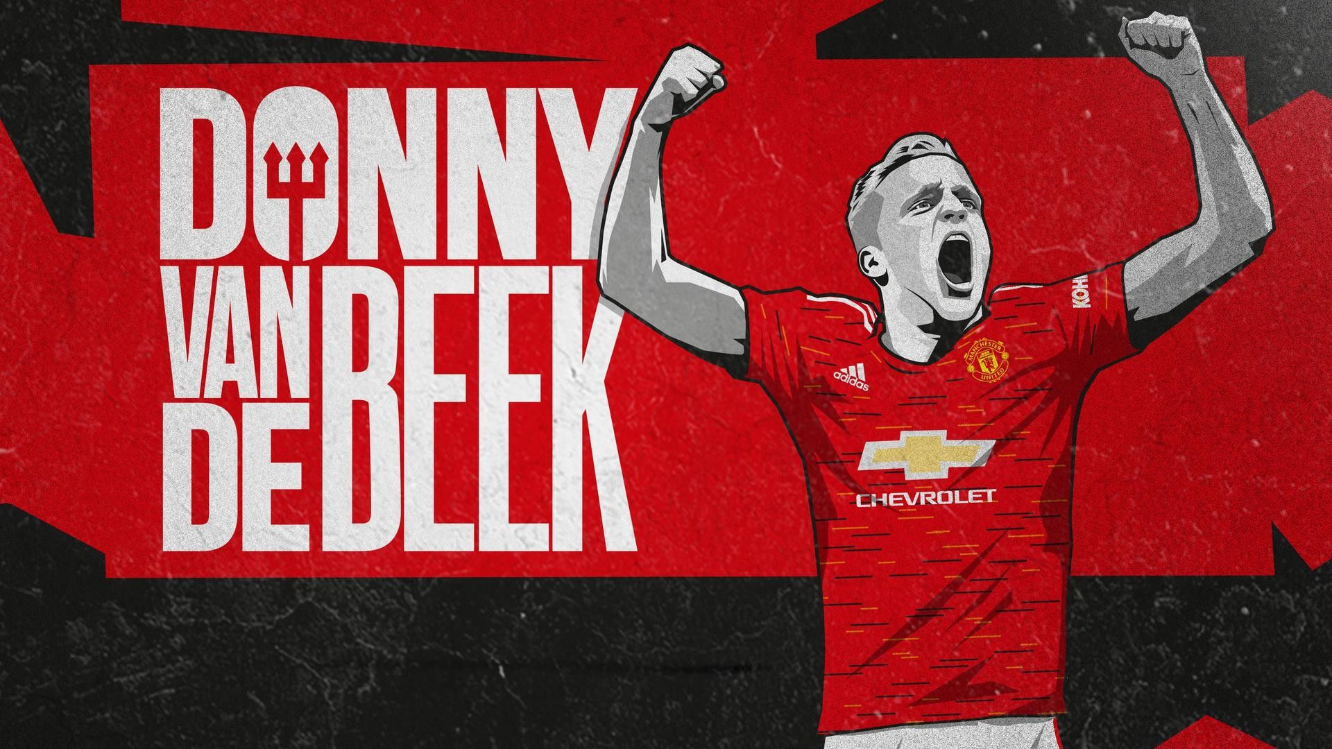 Donny Van De Beek Manchester United Wallpapers - Wallpaper