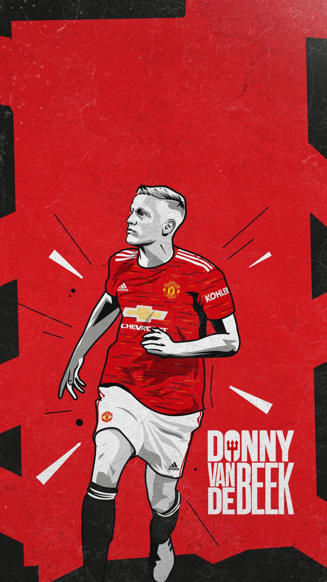 Donny Van De Beek Manchester United Wallpapers Wallpaper Cave