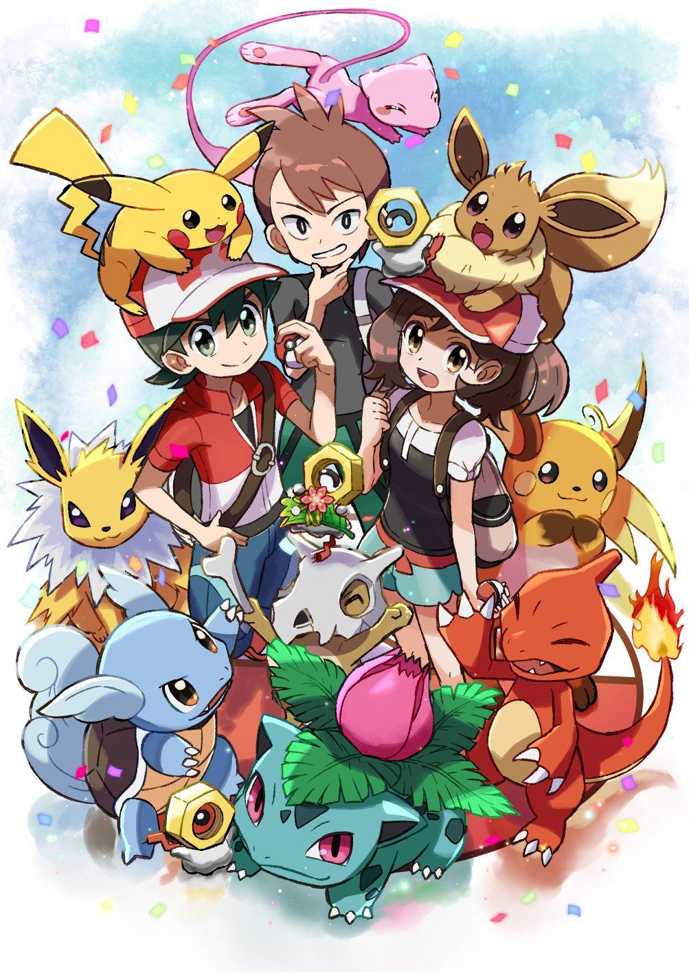 Pokémon Let's Go Pikachu Wallpapers - Wallpaper Cave