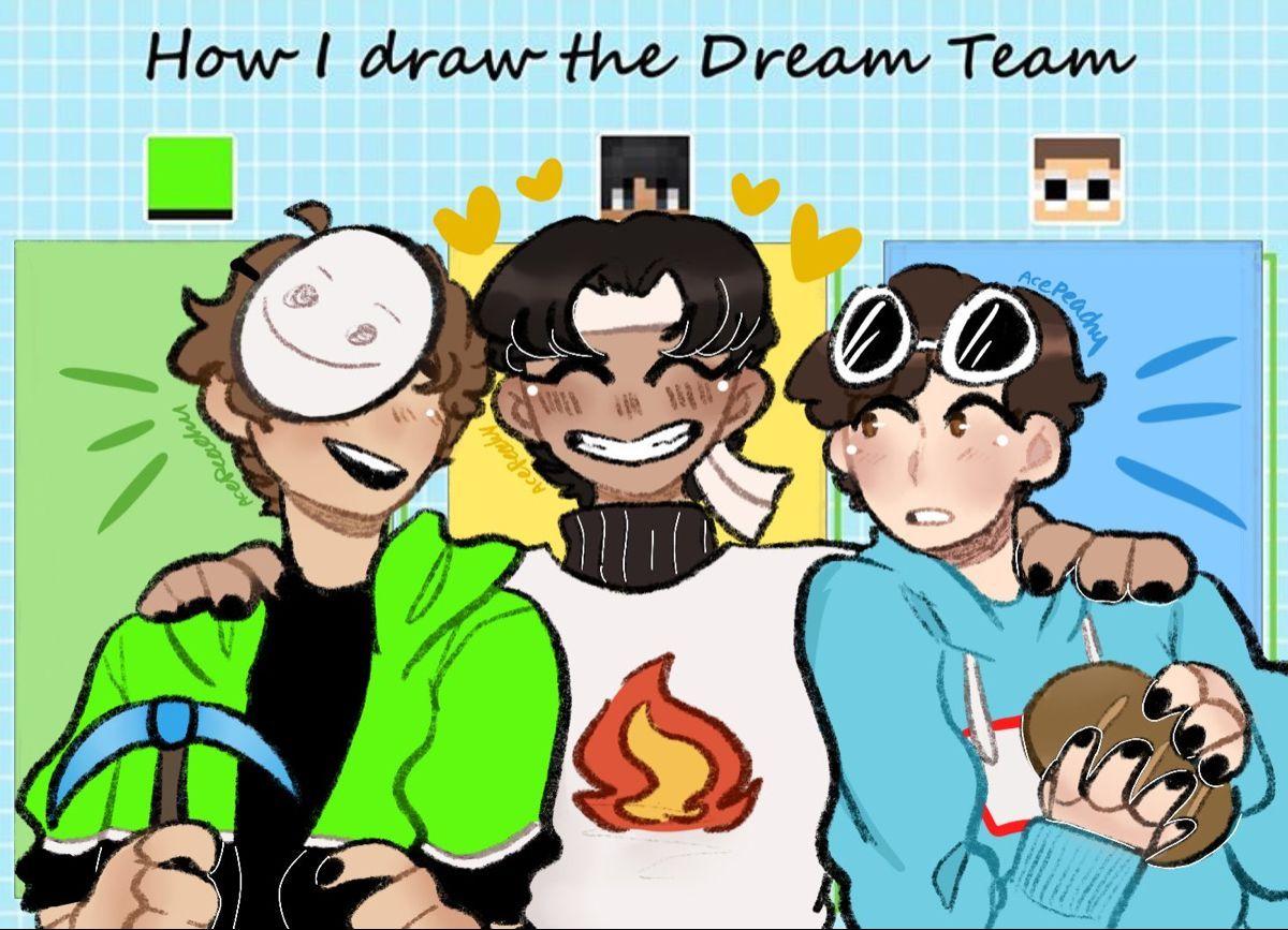 Dream Team Minecraft Wallpapers Wallpaper Cave