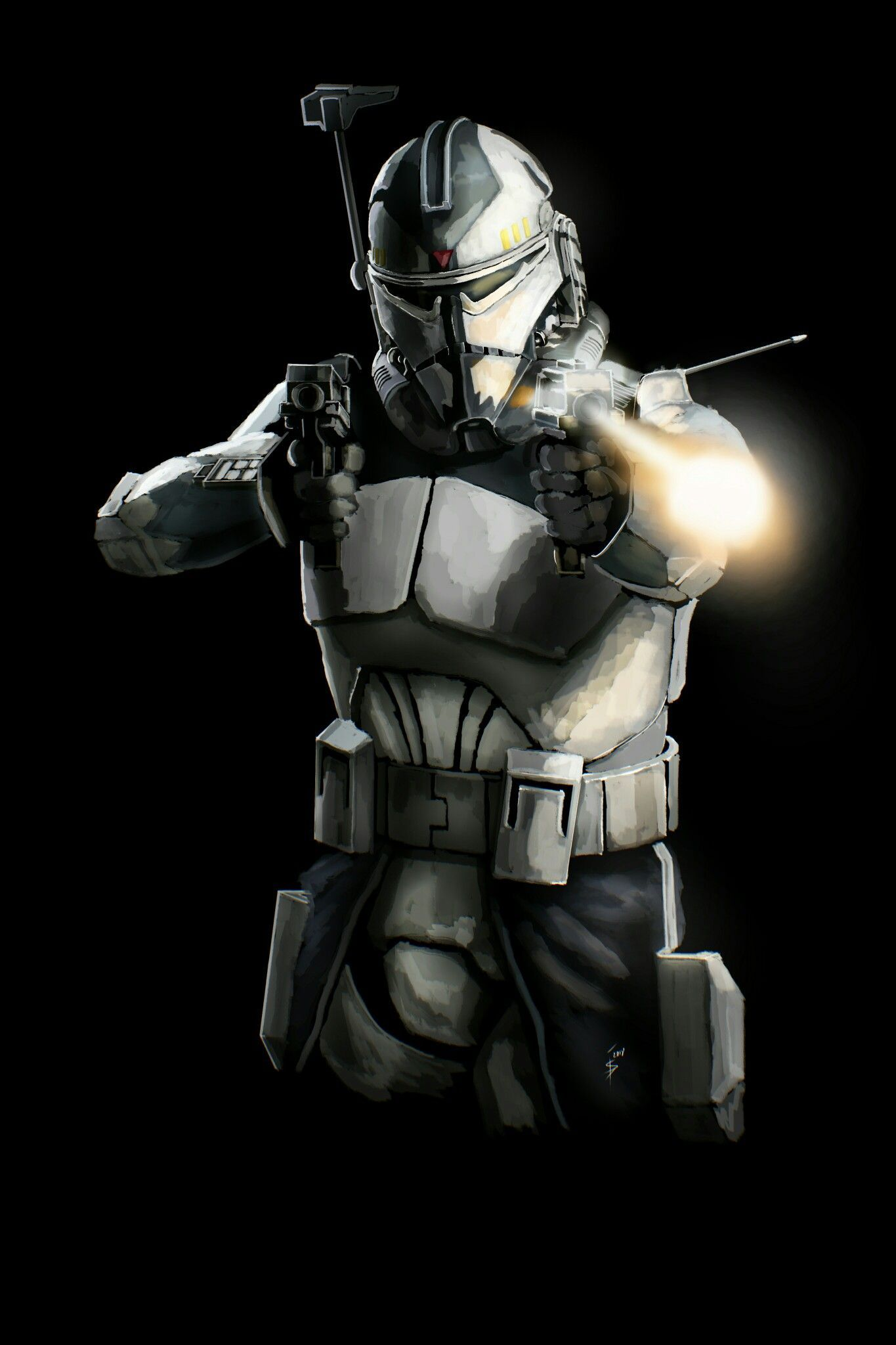Commander Wolffe action