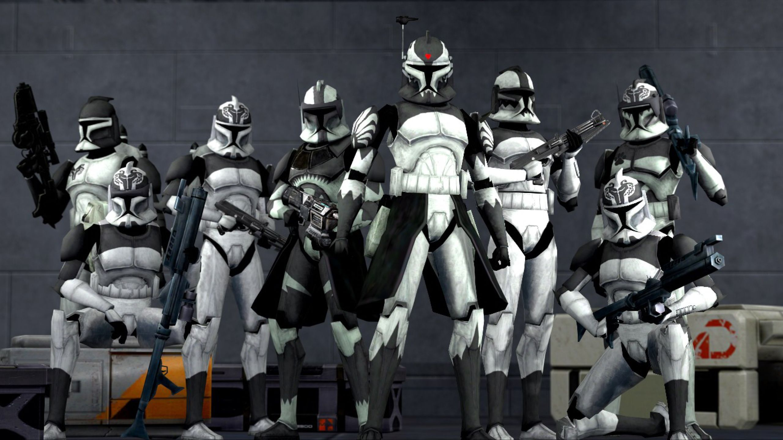 Commander Wolffe and The Wolfpack by dumbass333 on @DeviantArt