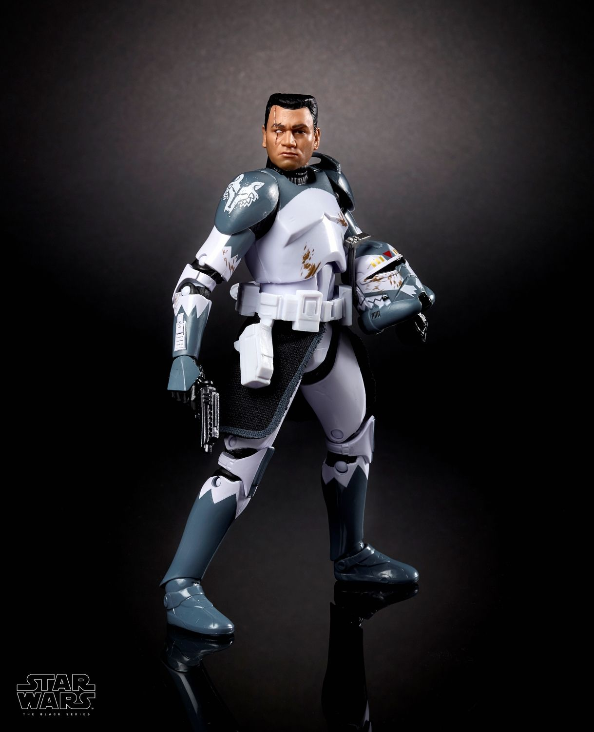 New GameStop Exclusive Star Wars The Black Series Clone Commander Wolffe 6 Figure Now Available for Pre