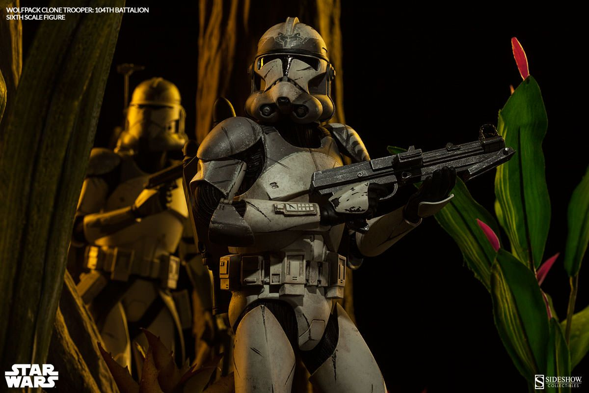 Star Wars Wolfpack Clone Trooper: 104th Battalion Sixth Scal