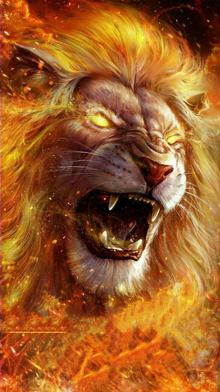 Scary Lions Wallpapers Wallpaper Cave