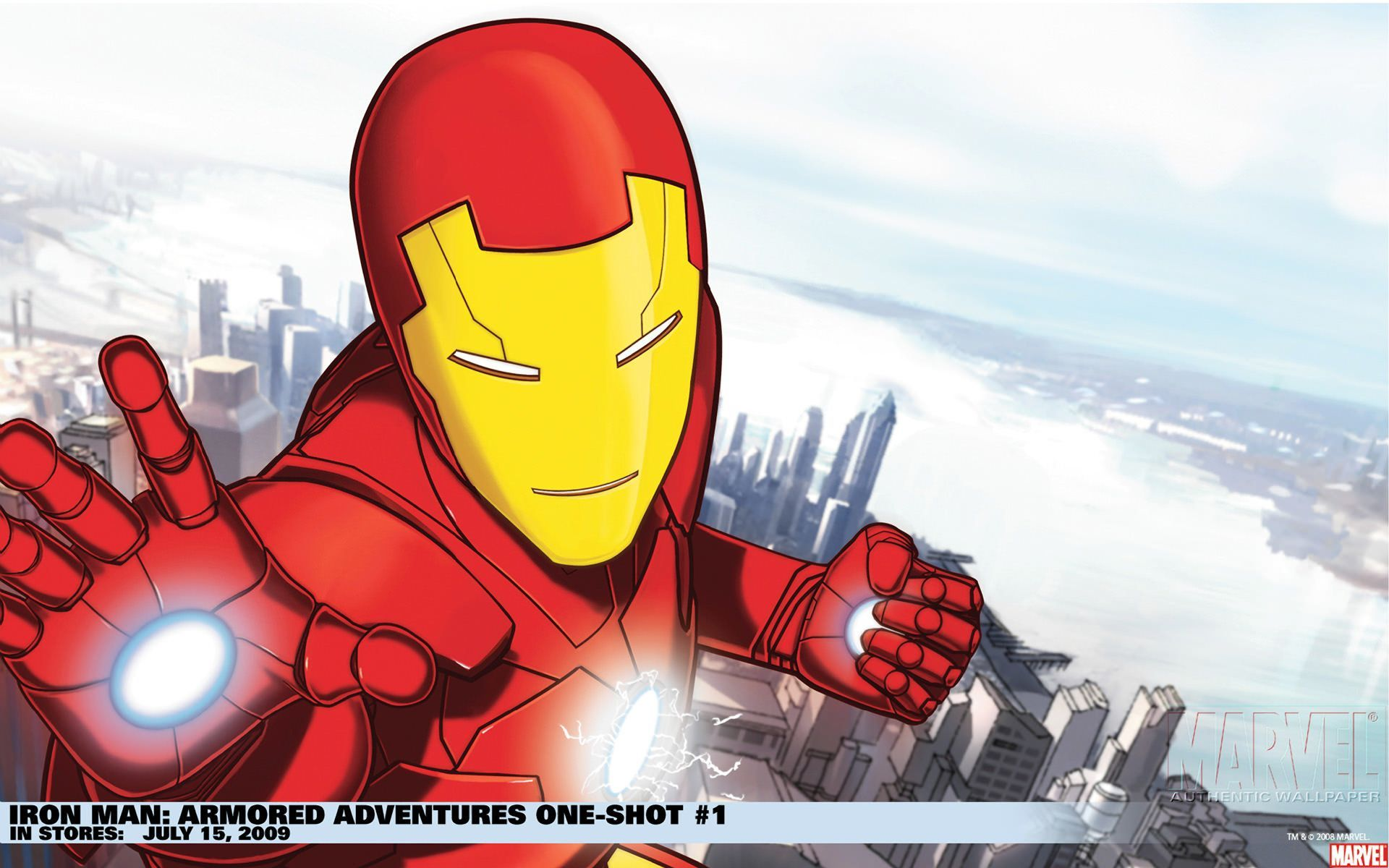 Iron Man Armored Adventures Wallpapers