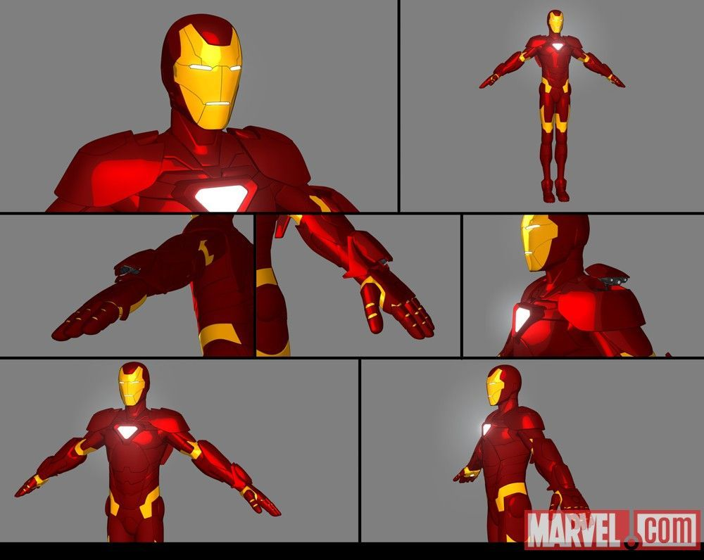 Image From Iron Man: Armored Adventures' New Suit