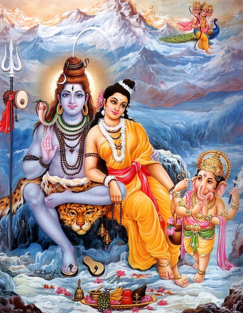 Can you tell me about the love of Shiva and Parvati or any ... |Shiva Parvati Love Wallpaper