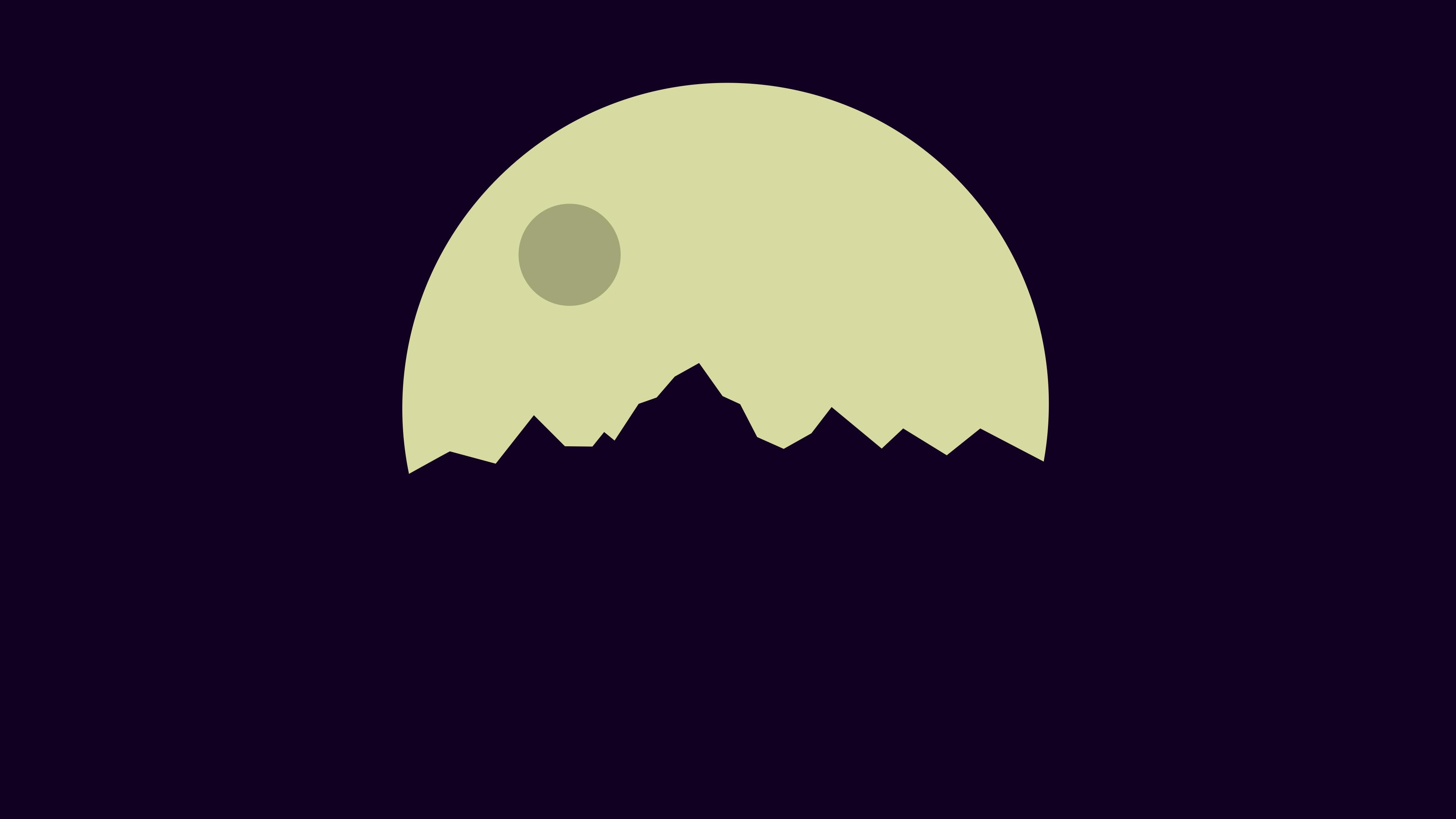 Minimalist Moon Wallpapers