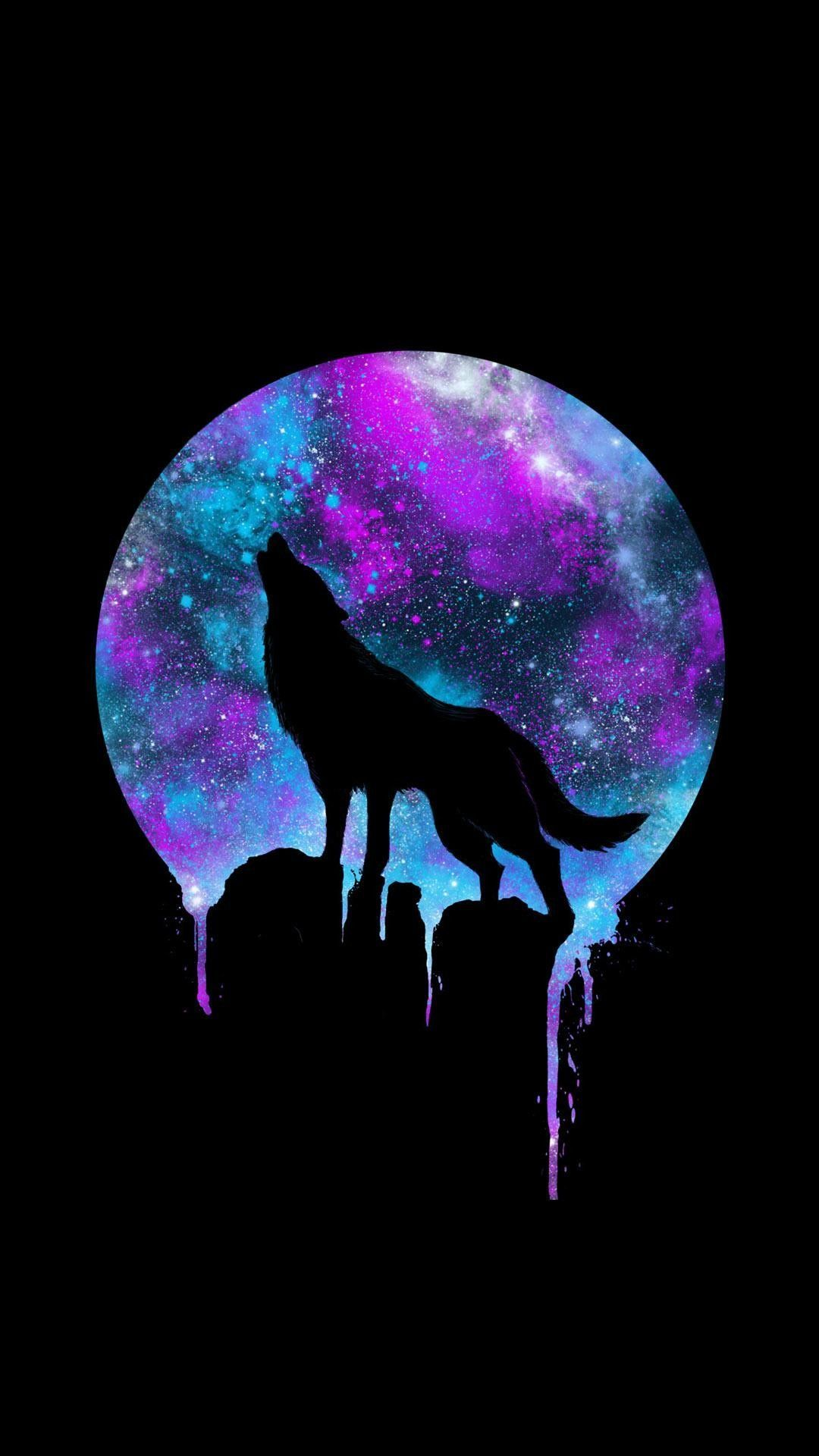 Wolf Moon iPhone Wallpapers