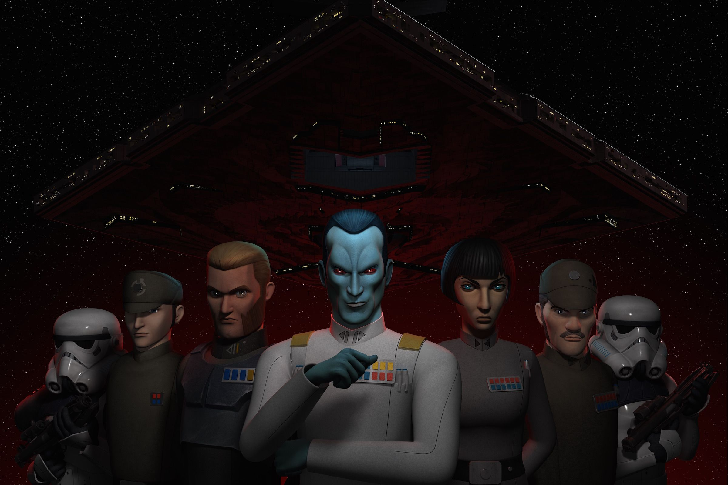 Grand Admiral Thrawn Wallpapers Wallpaper Cave