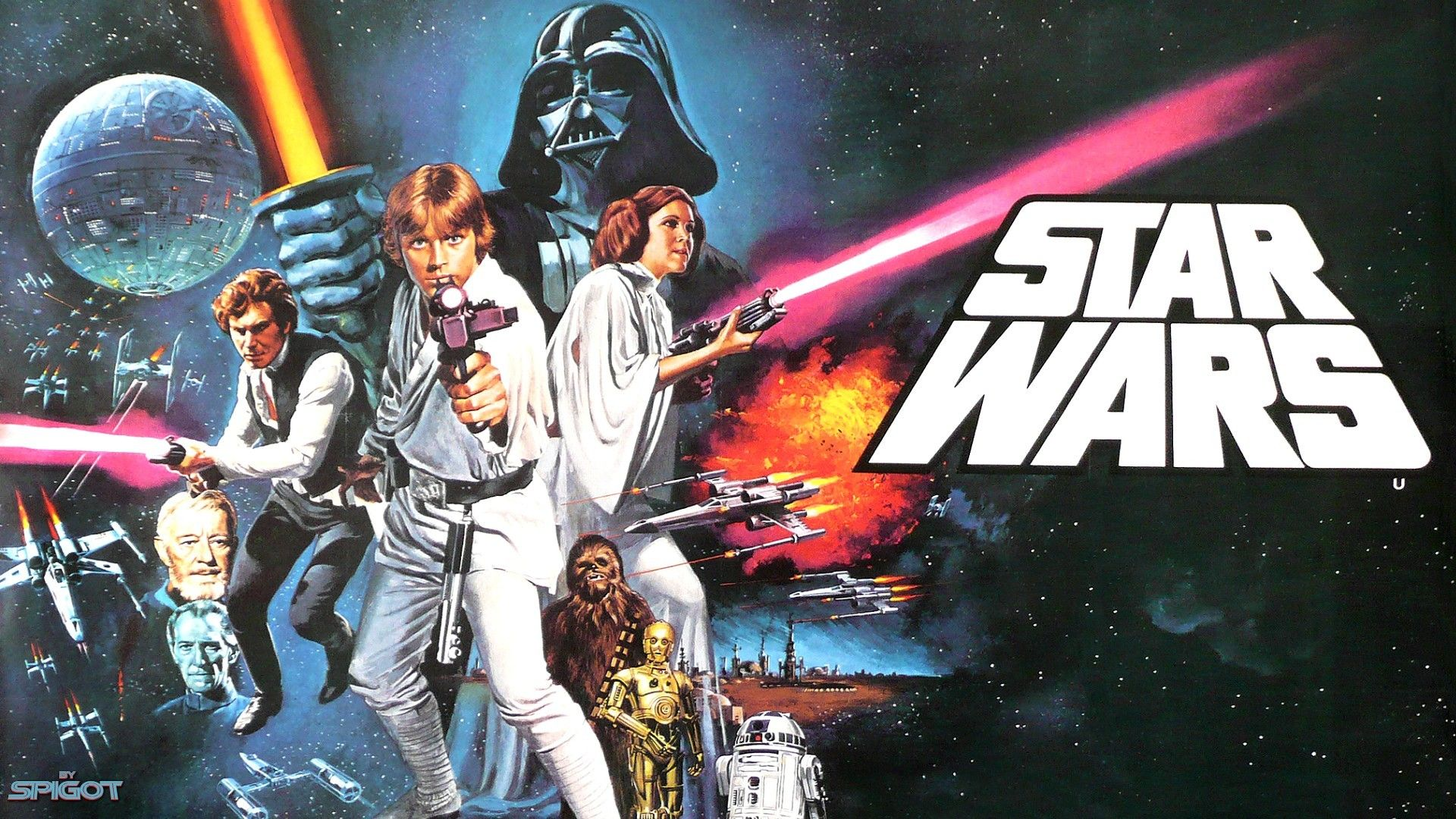 Star Wars Poster Wallpapers Wallpaper Cave