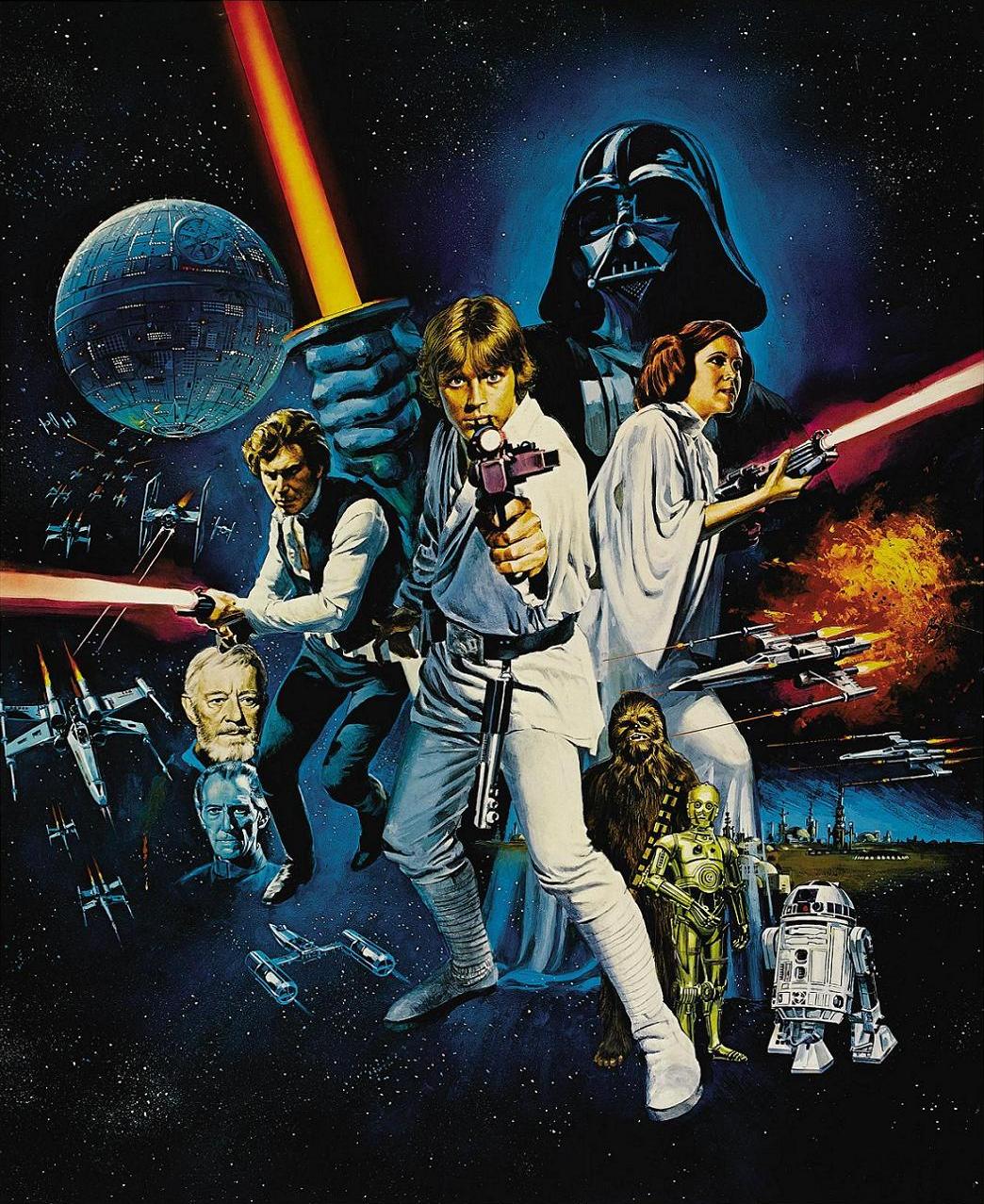 Star Wars Poster Wallpapers Wallpaper Cave