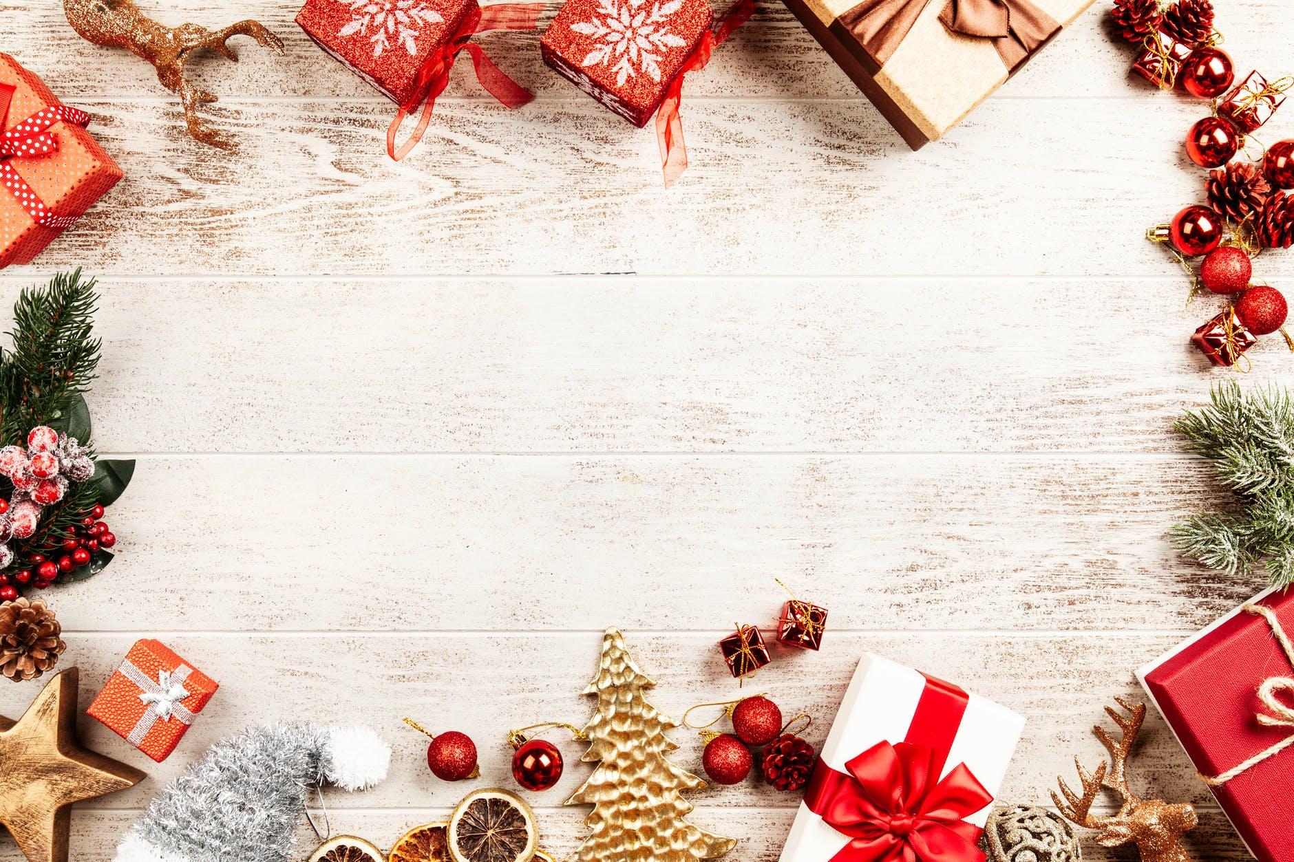 Floral Christmas Backgrounds