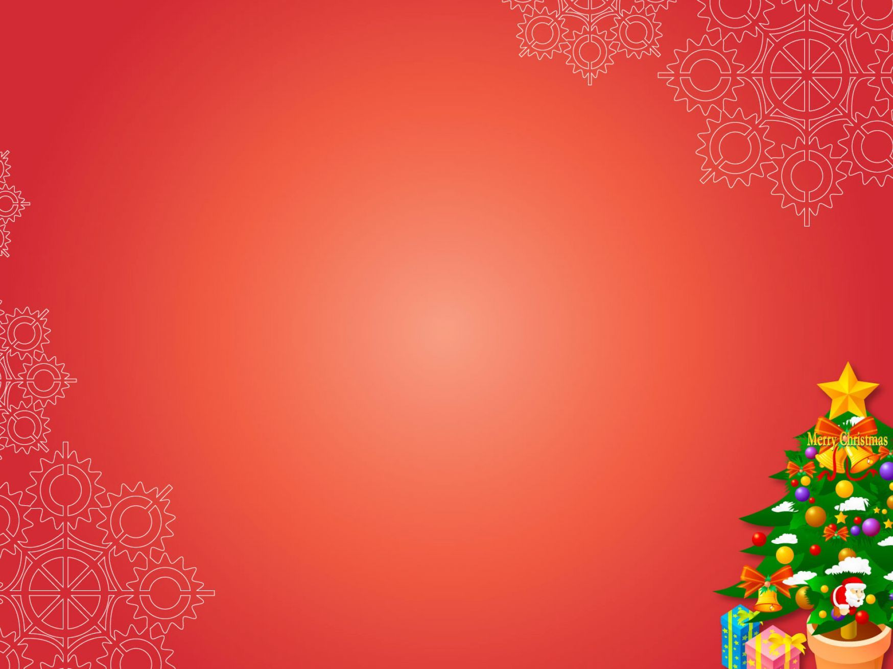 Free Christmas Ppt Backgrounds