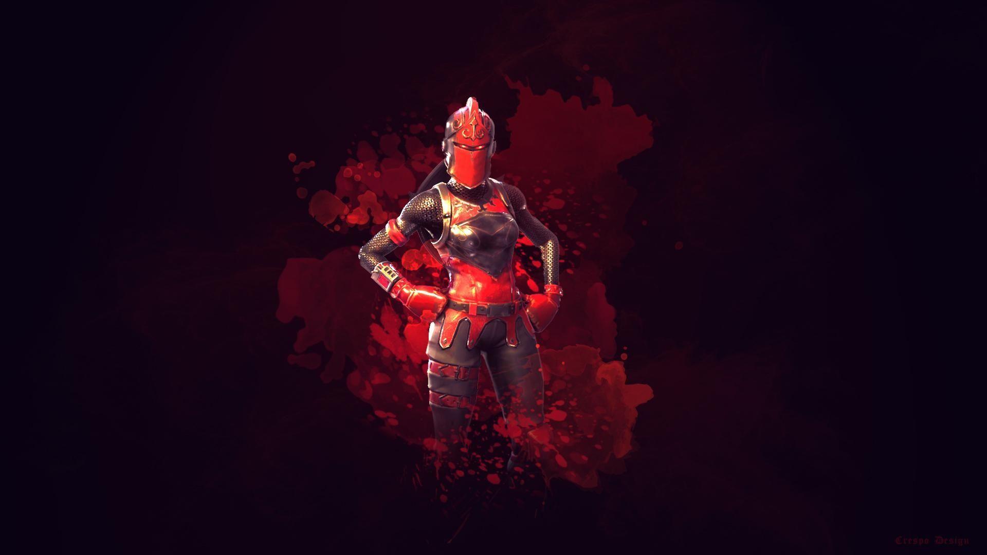 Red Fortnite Skins Wallpapers Wallpaper Cave