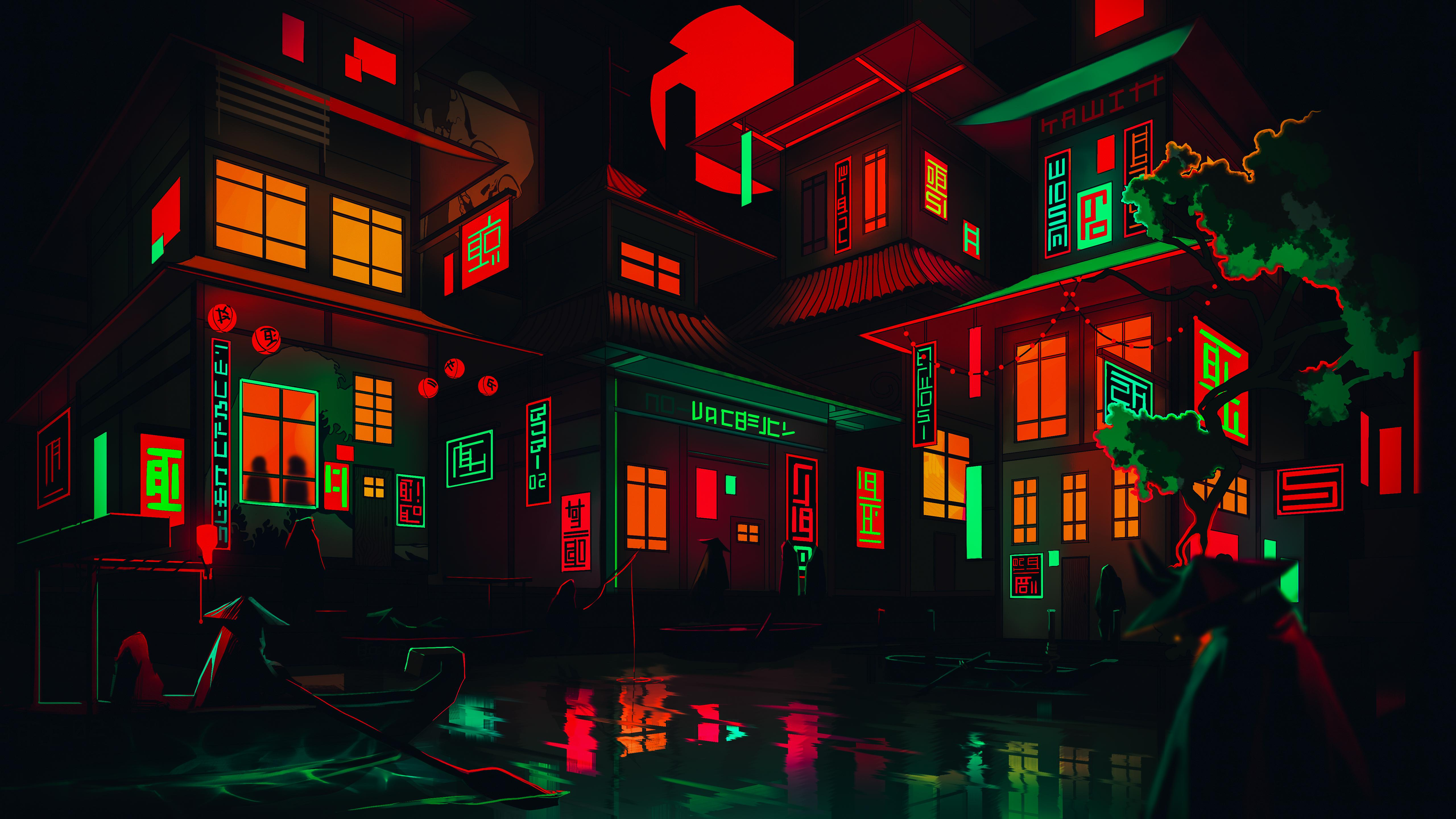 Neon Pc Wallpapers Wallpaper Cave