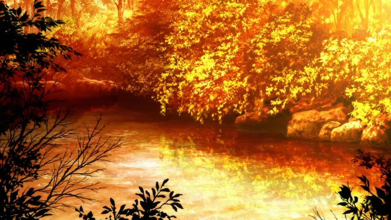 Autumn Anime Scenery Wallpapers - Wallpaper Cave