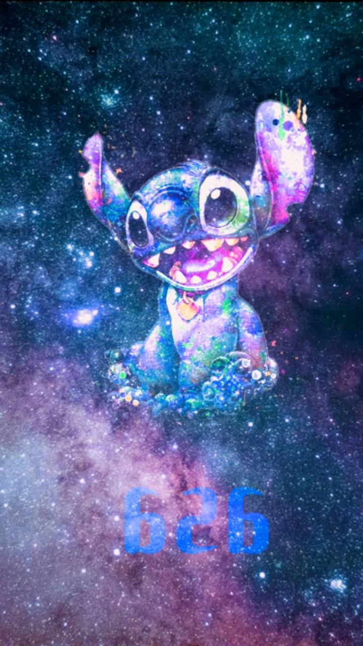 Stitch Galaxy Wallpapers Wallpaper Cave
