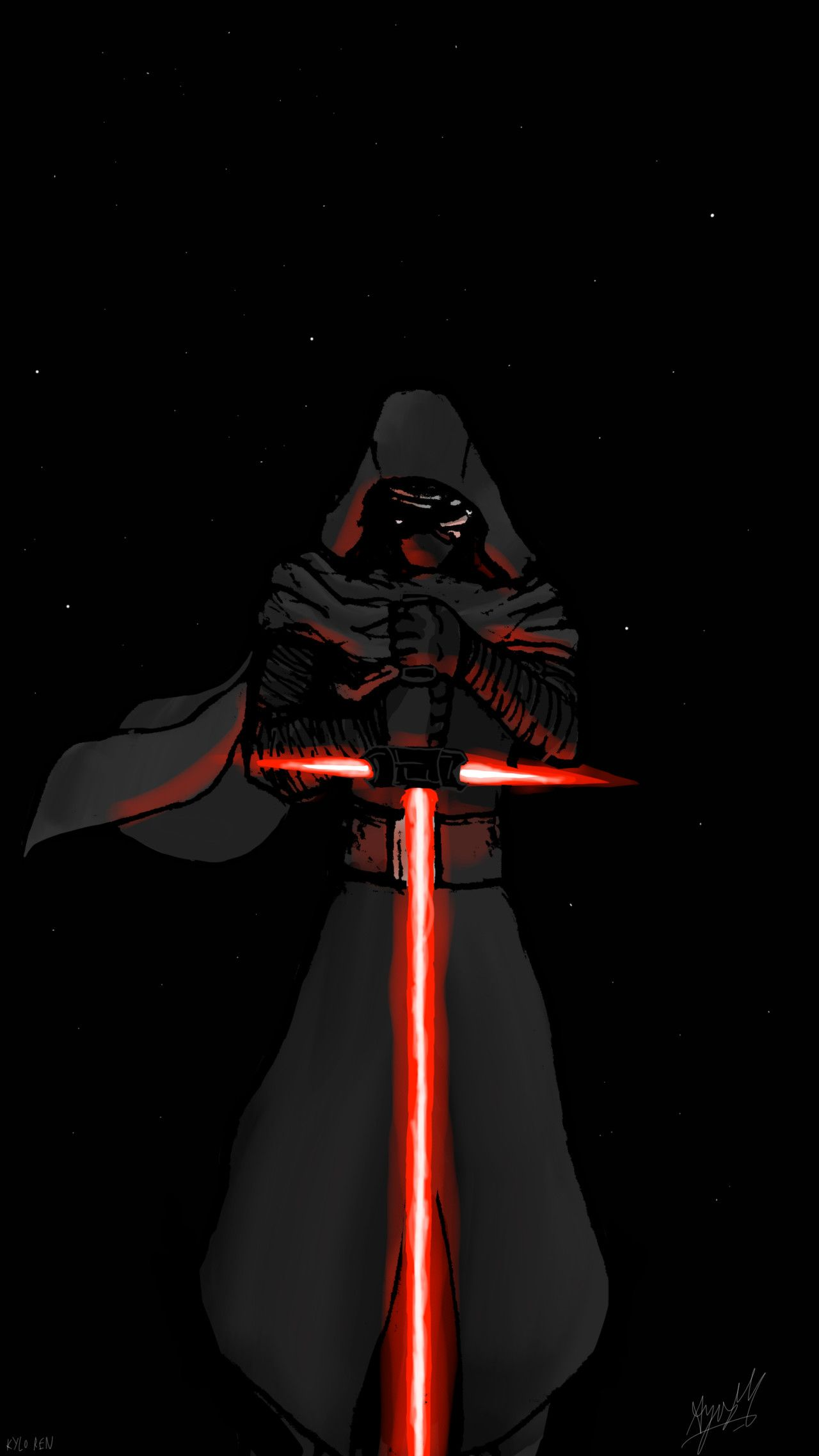 Star Wars Kylo Ren Wallpapers Wallpaper Cave