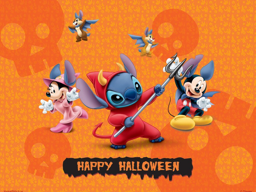 Lilo And Stitch Halloween Wallpapers Wallpaper Cave