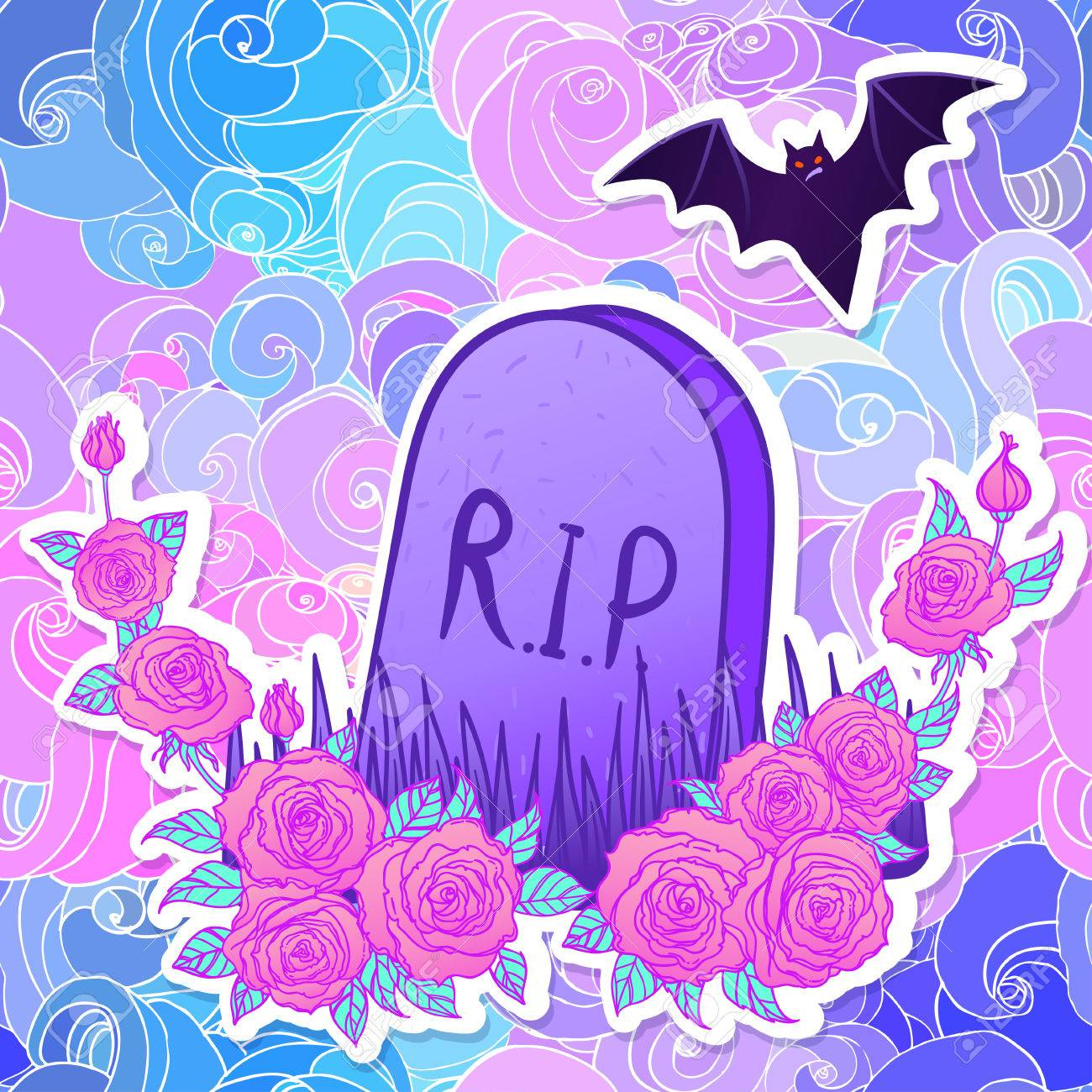 Pastel Goth Halloween Wallpapers - Wallpaper Cave