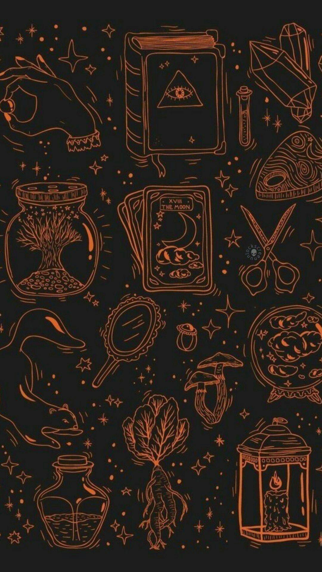 Halloween Lockscreen Wallpapers Wallpaper Cave