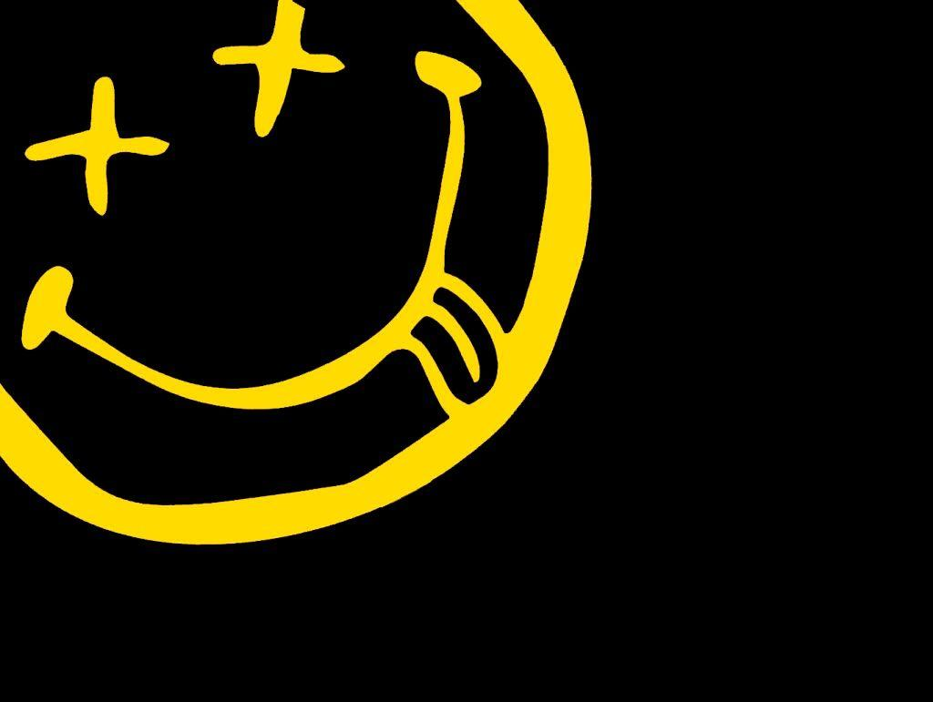 Simple Nirvana Smiley Wallpaper